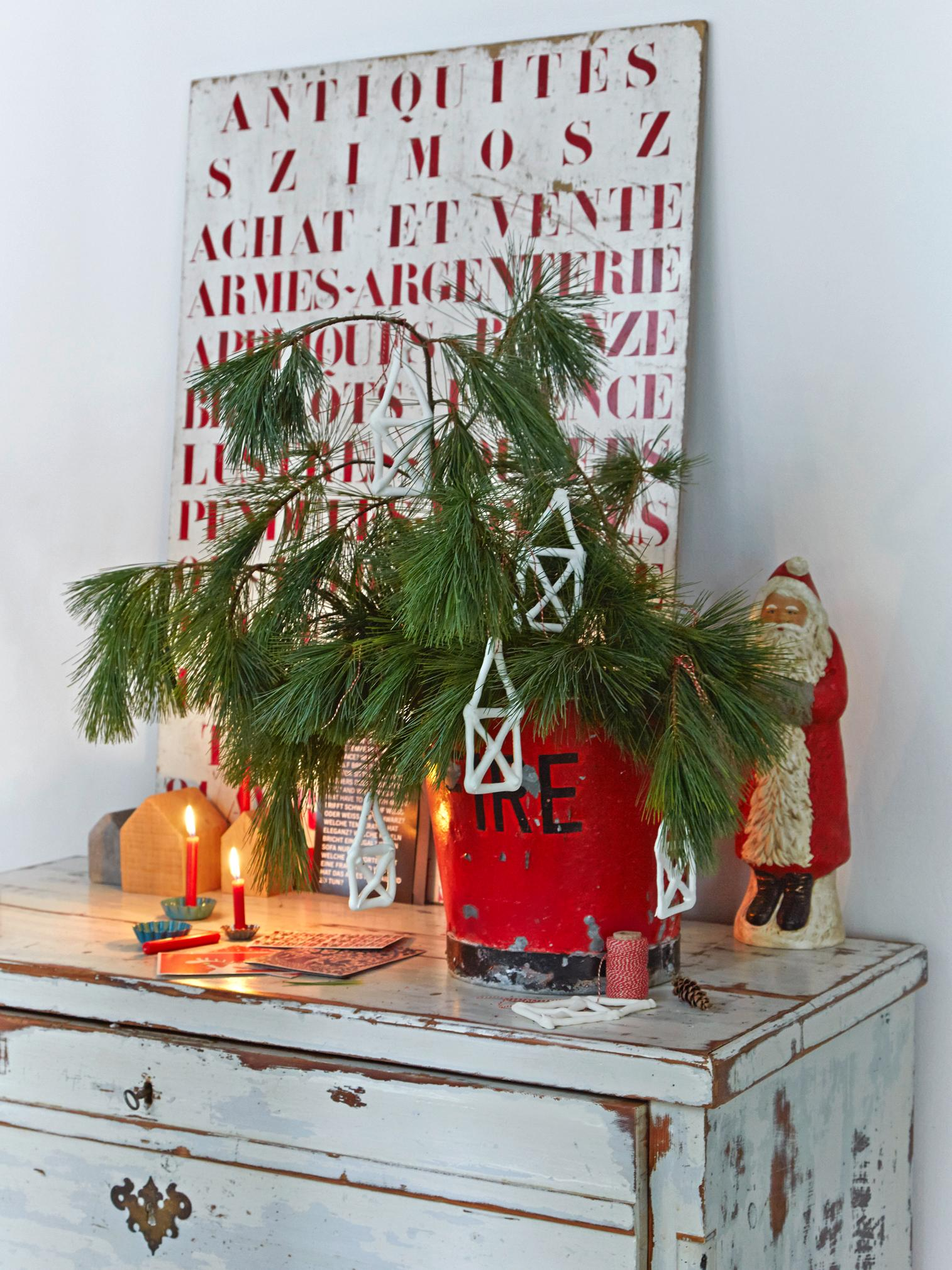 Sweet Home #bastelidee #diy #christbaumschmuck ©Living at Home