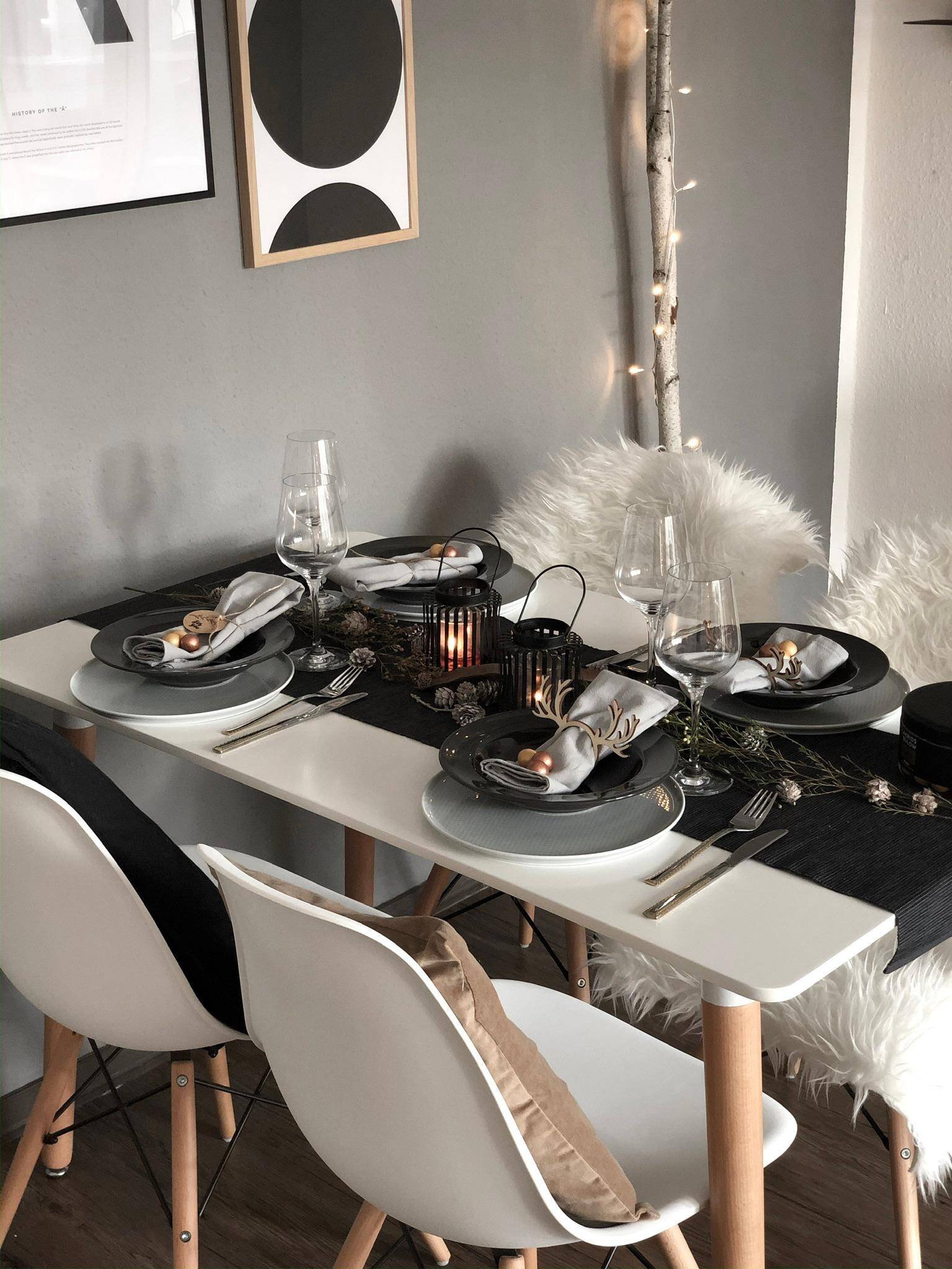 Table setting und ein bisschen Inspiration für den Winter. ✨❄️