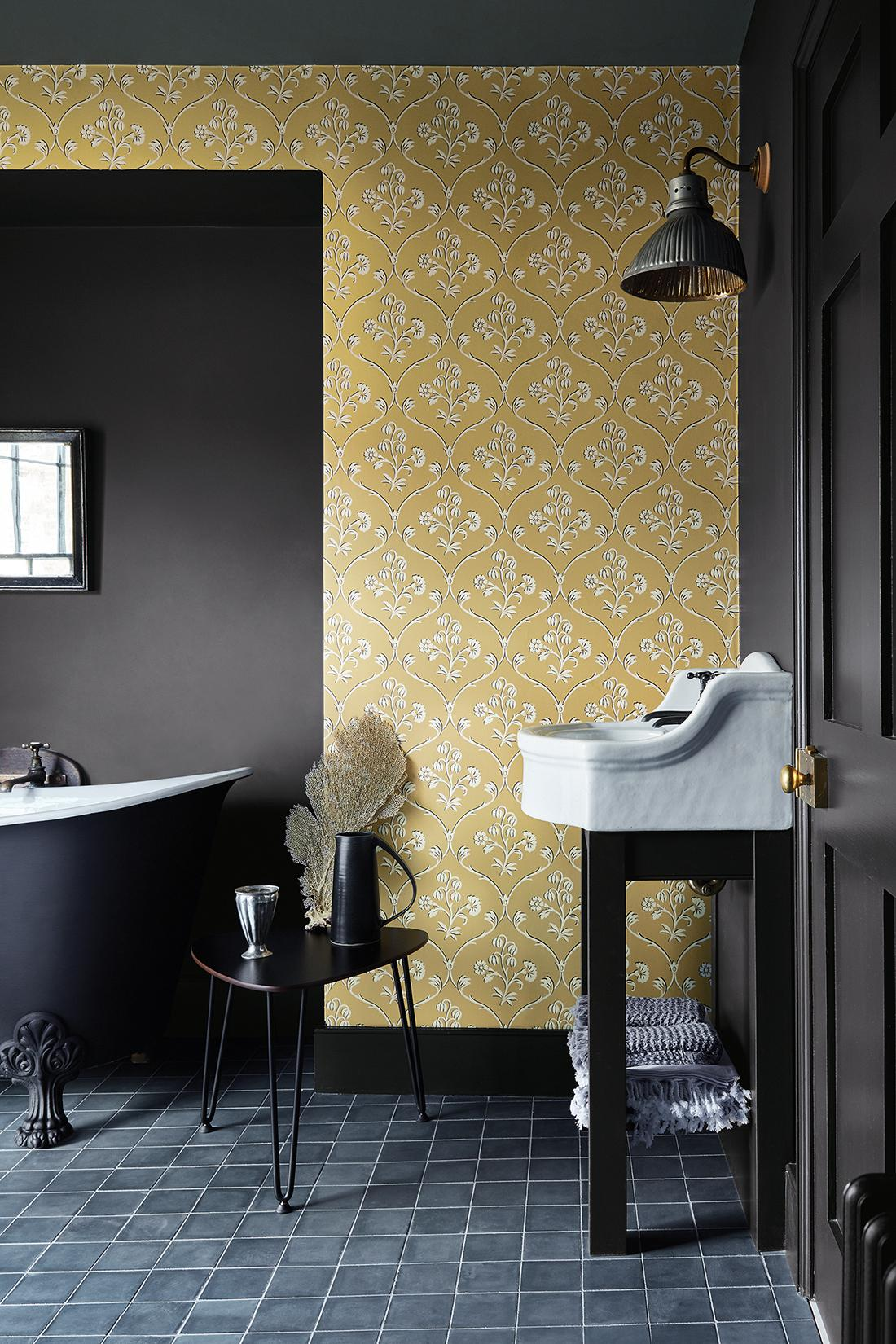 "Tapete ""Cranford"" #badewanne #mustertapete ©Little Greene"