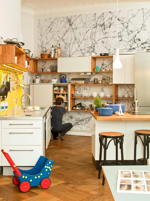 Wandgestaltung Für Die Küche • Bilder & Ideen • Couc
