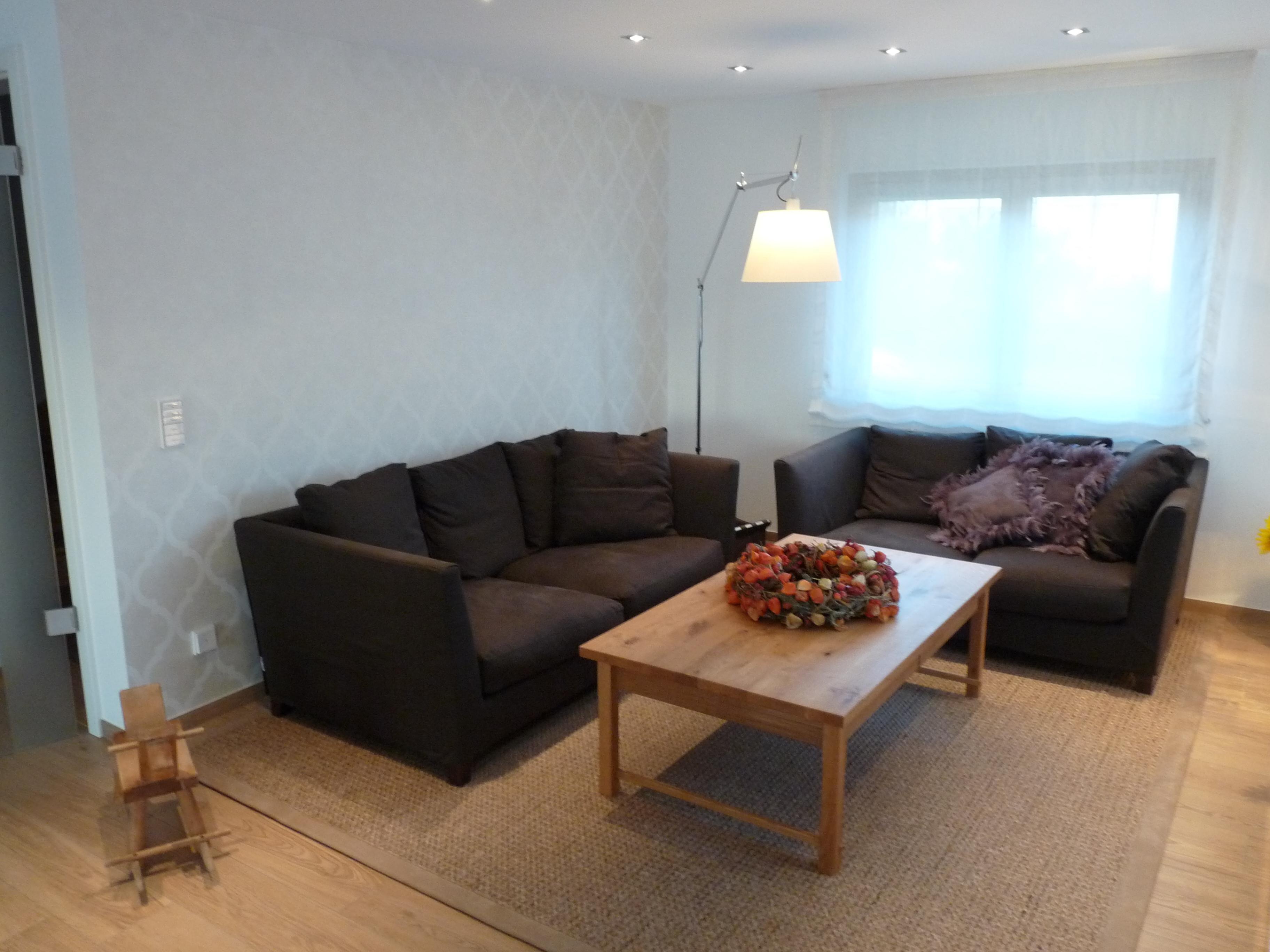 mustertapete ? bilder & ideen ? couchstyle - Muster Tapete Wohnzimmer