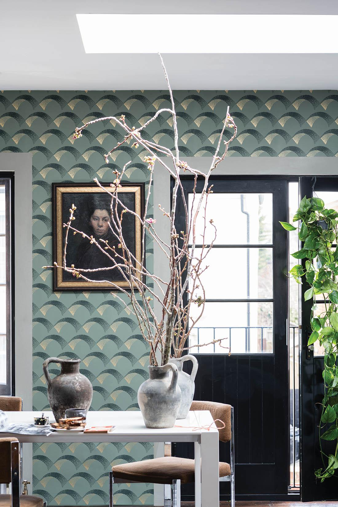 Tapete von Farrow & Ball #wandgestaltung #mustertapete #farrow&ball ©Farrow & Ball