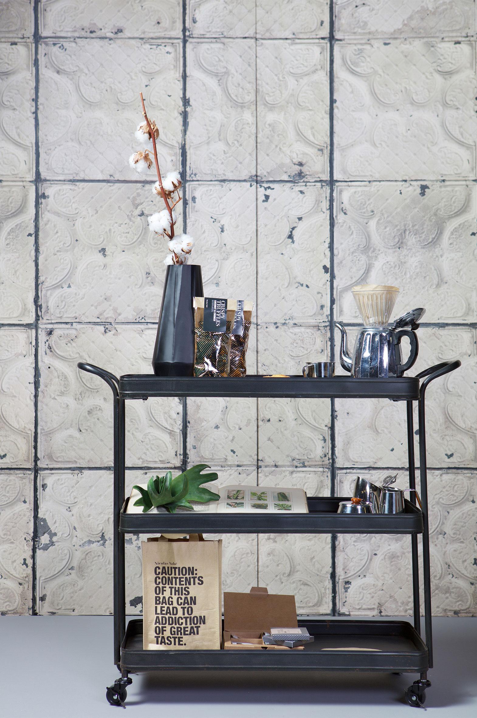 Teewagen Im Industriedesign #küche #teewagen #küchenmöbel ©BePureHome