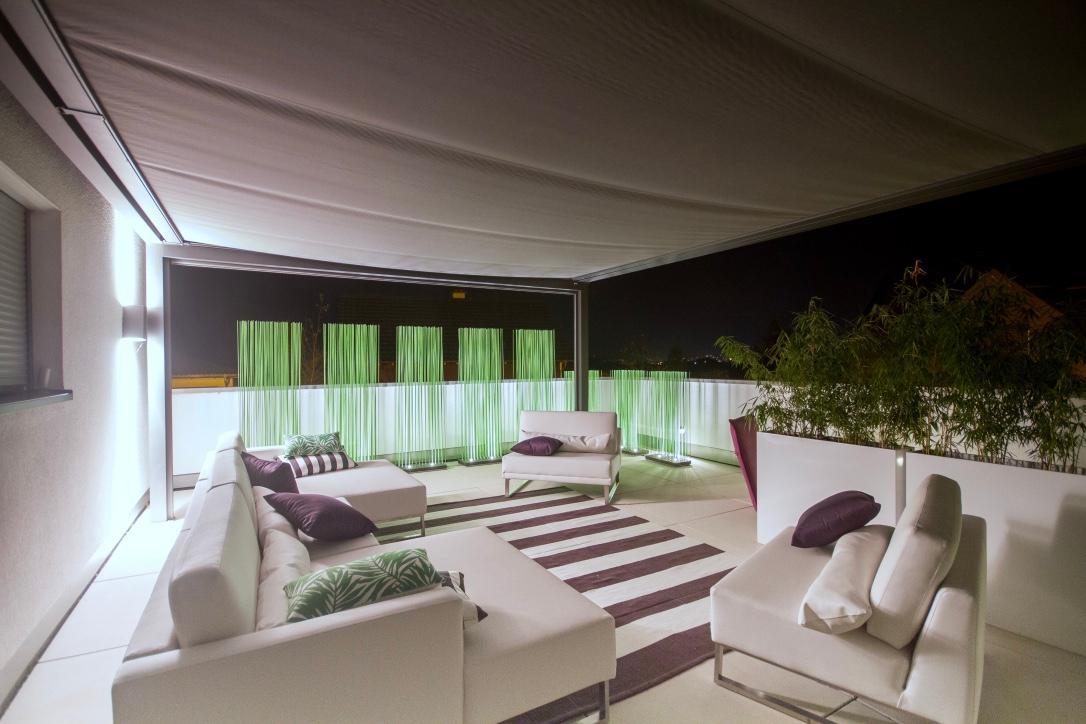 Terrasse mit sichtschutz bilder ideen couchstyle for Terrassengestaltung ideen