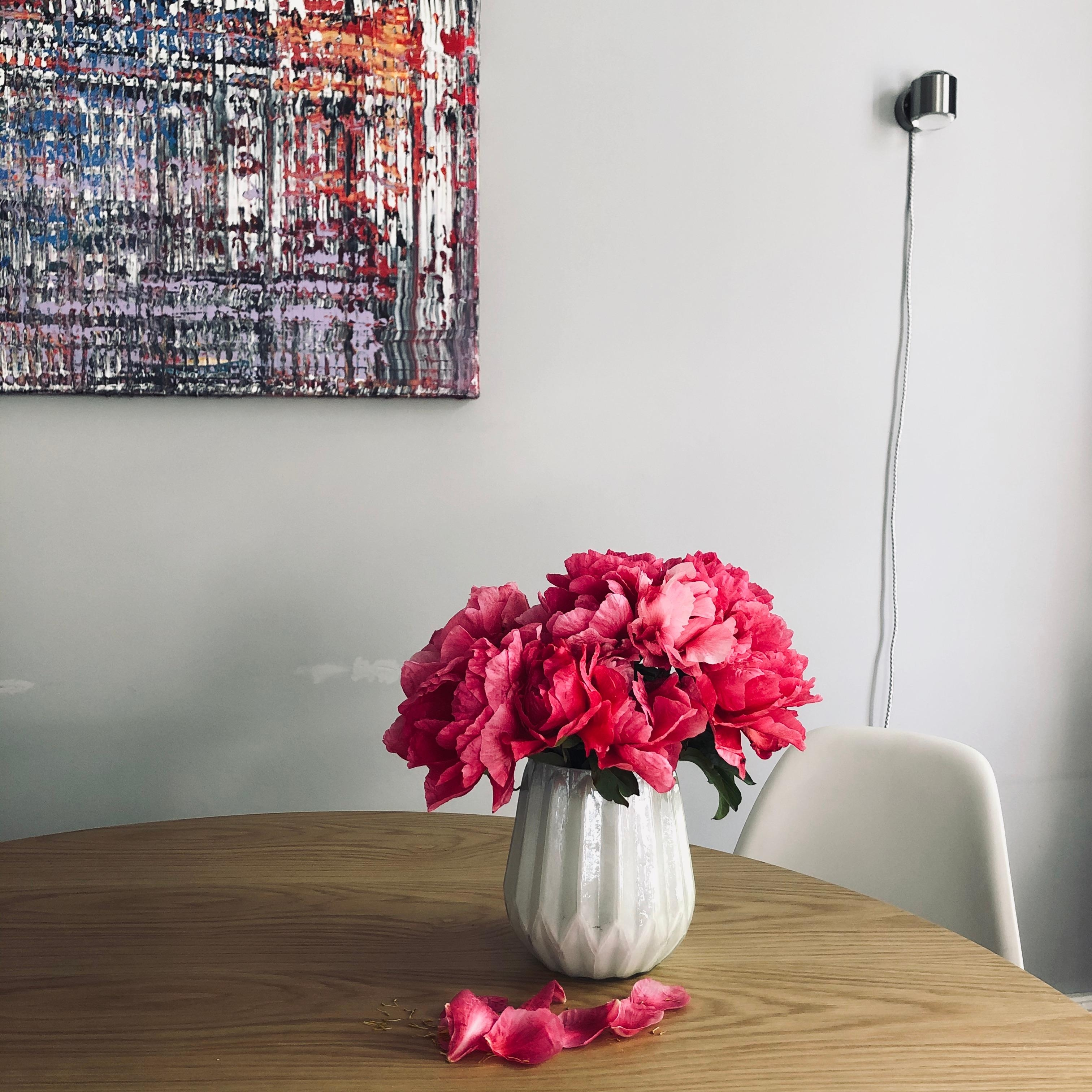 the art of slow #flowers #kunst #slowliving #onmytable #blumen