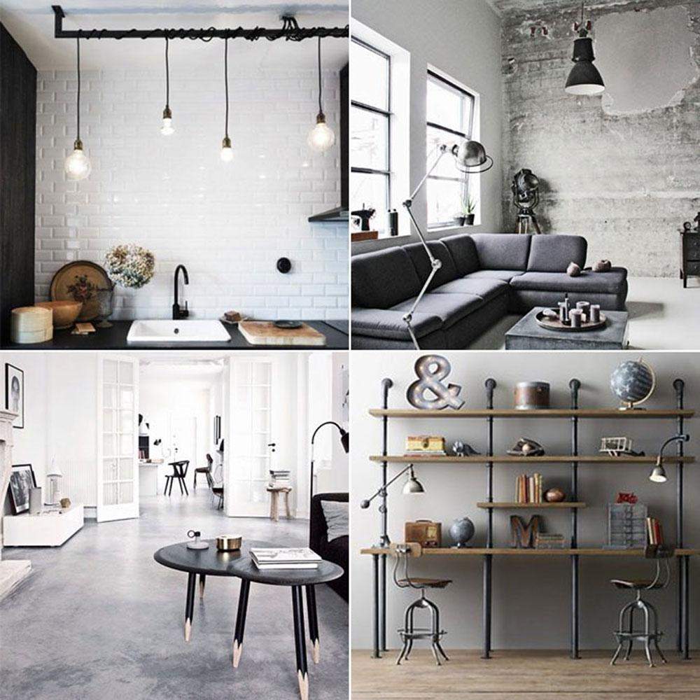 industrial design wandleuchte bilder ideen cou. Black Bedroom Furniture Sets. Home Design Ideas