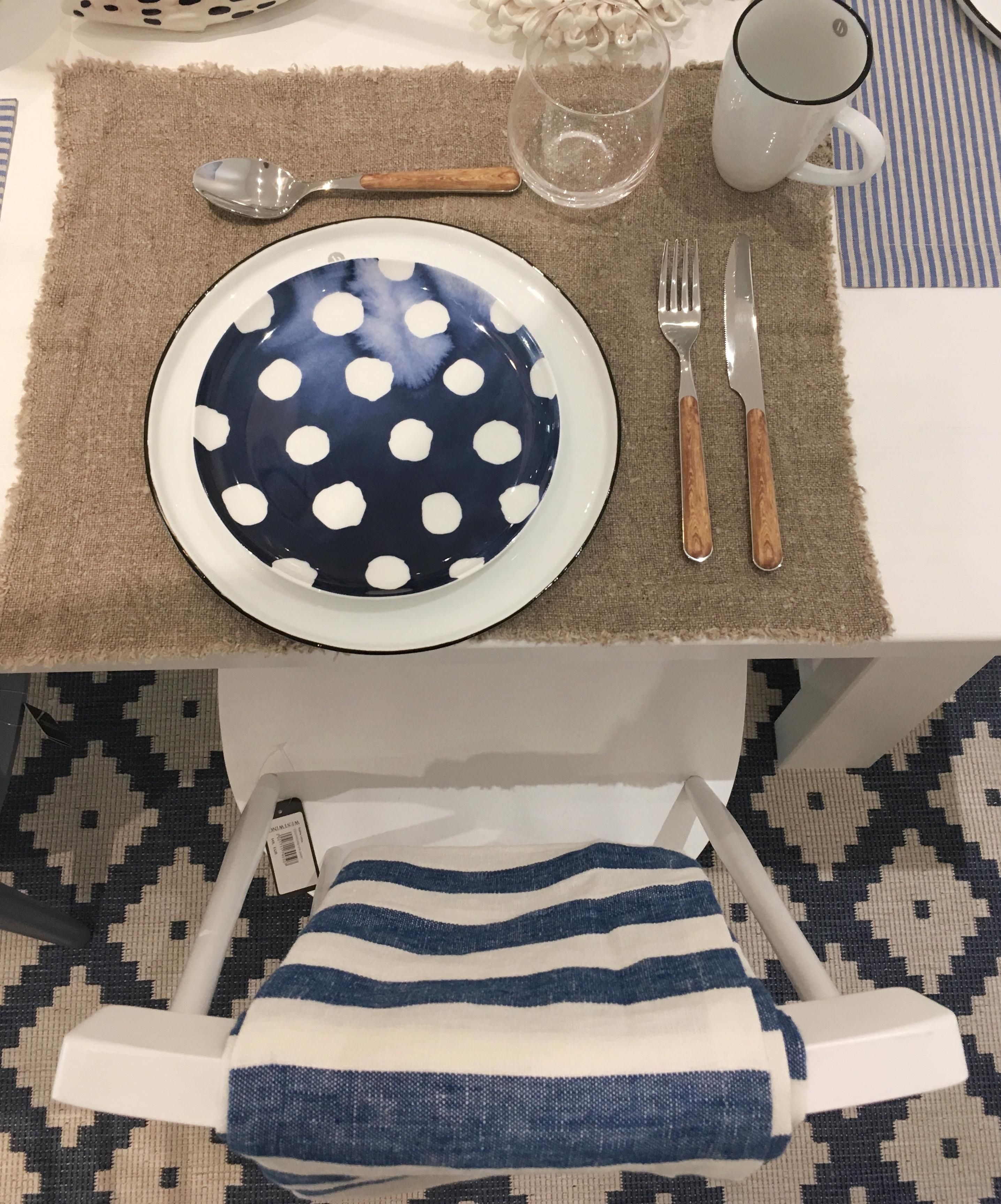 Tischdeko Inspiration Tischdeko Blauweiss Maritim