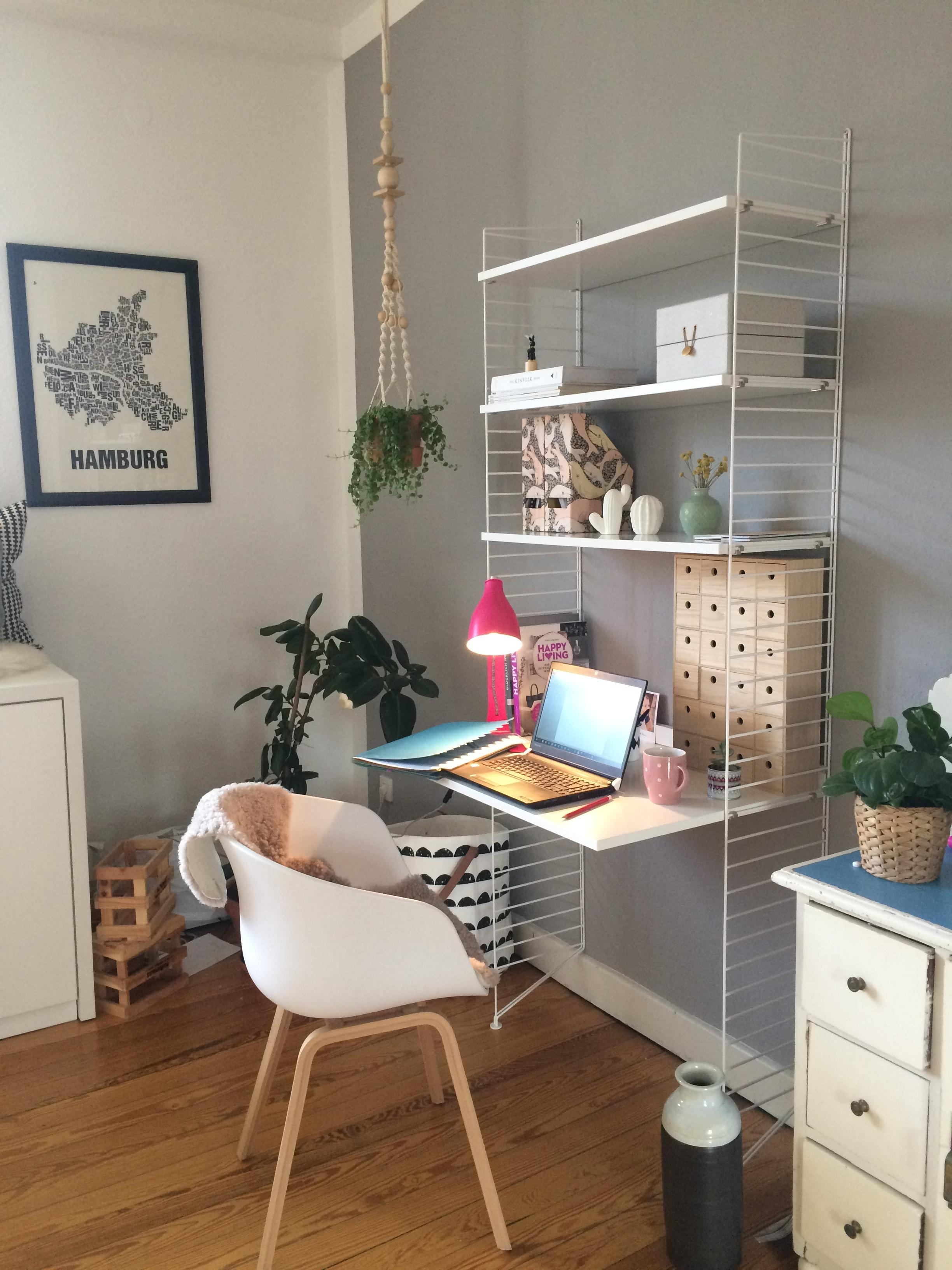 Today: Home Office. #workspace #interior #living #arbeitsplatz #wandgestaltung #altundneu #designklassiker #scandy