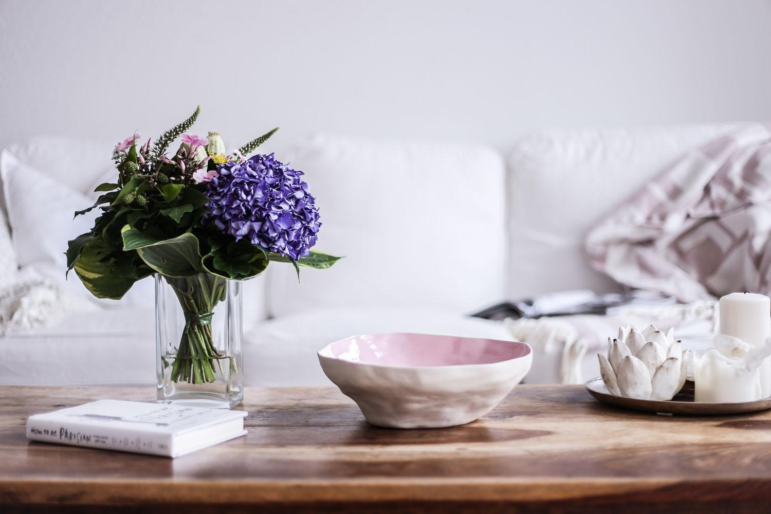 touch of pink.