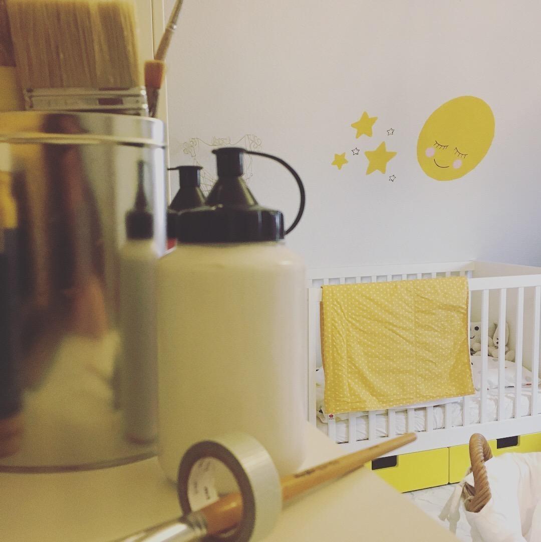 Kinderzimmer Gelb