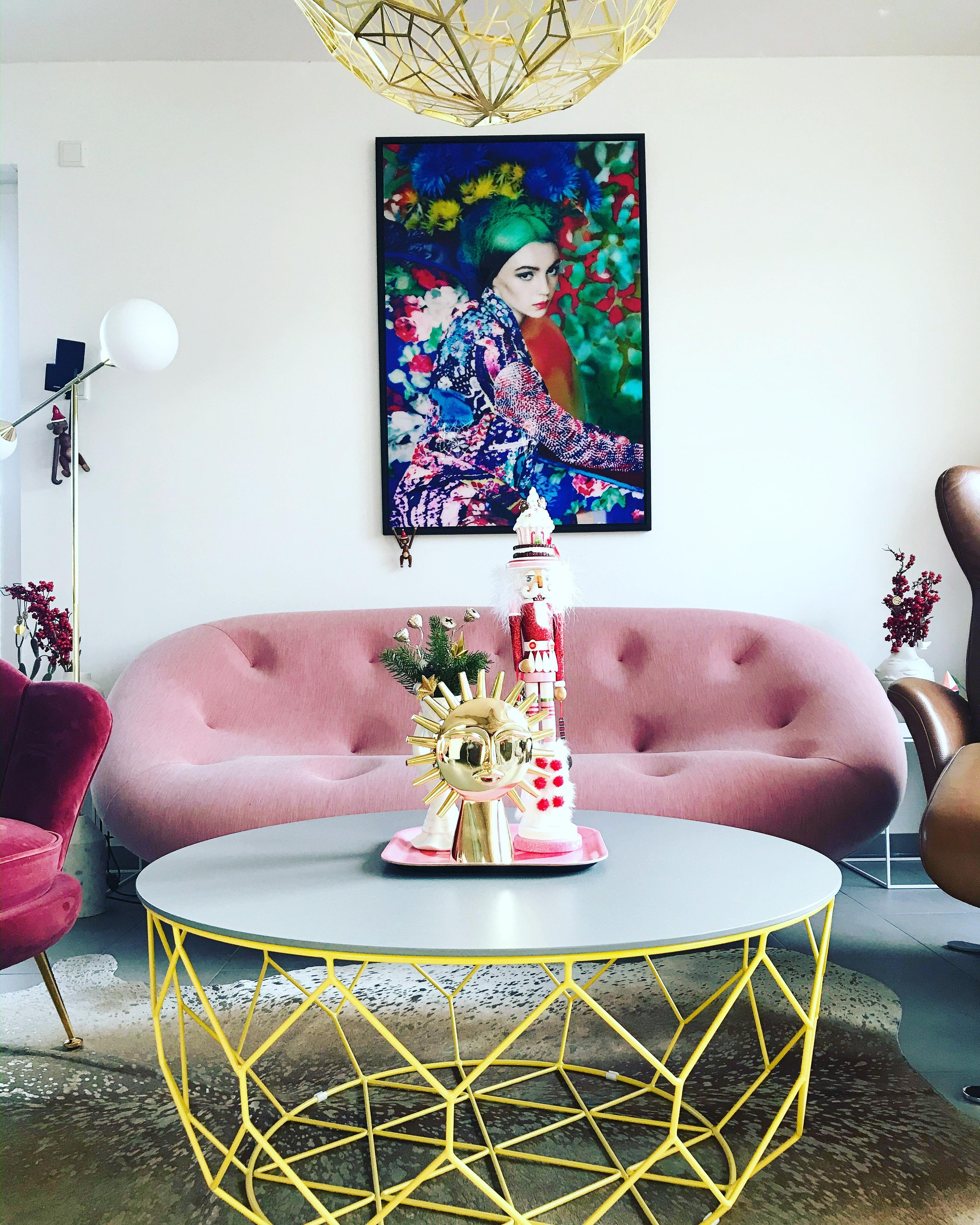 #trauminrosa #wohnzimmer #livecolorfully