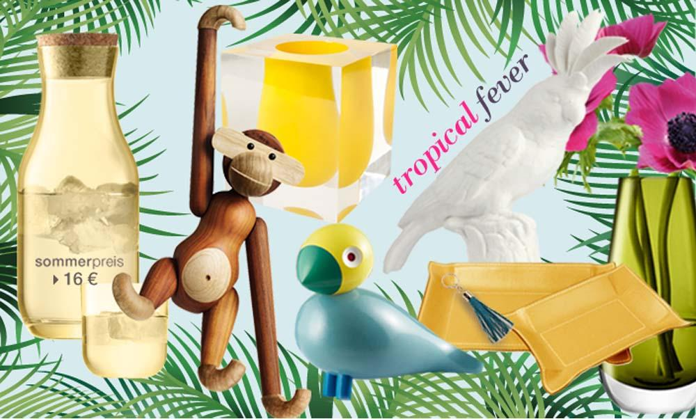 Tropical Fever #dekovögel ©desiary.de