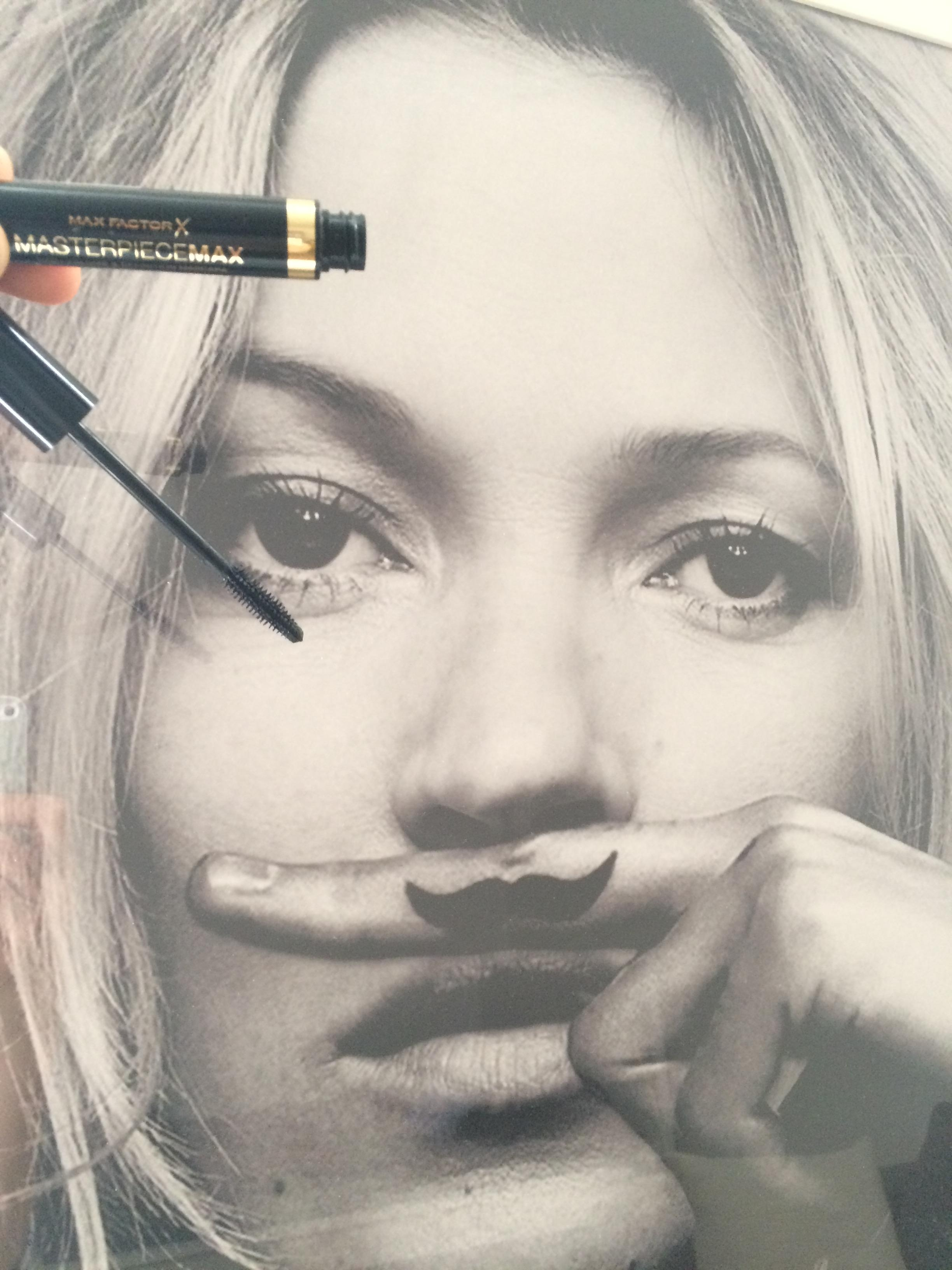 Two Masterpieces: Kate & Max Factor. #beautychallenge #mascara