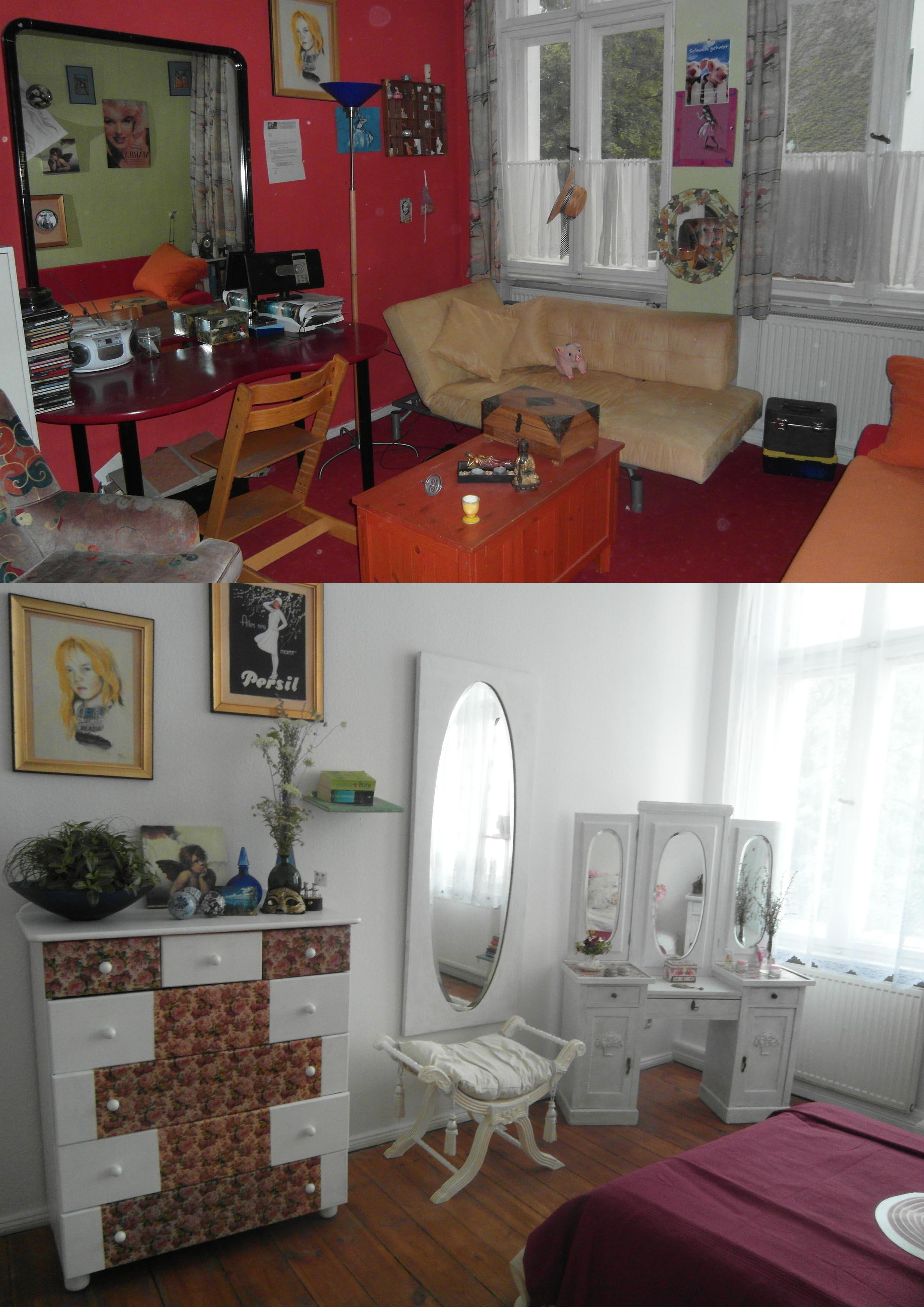 wei er schminktisch bilder ideen couch. Black Bedroom Furniture Sets. Home Design Ideas