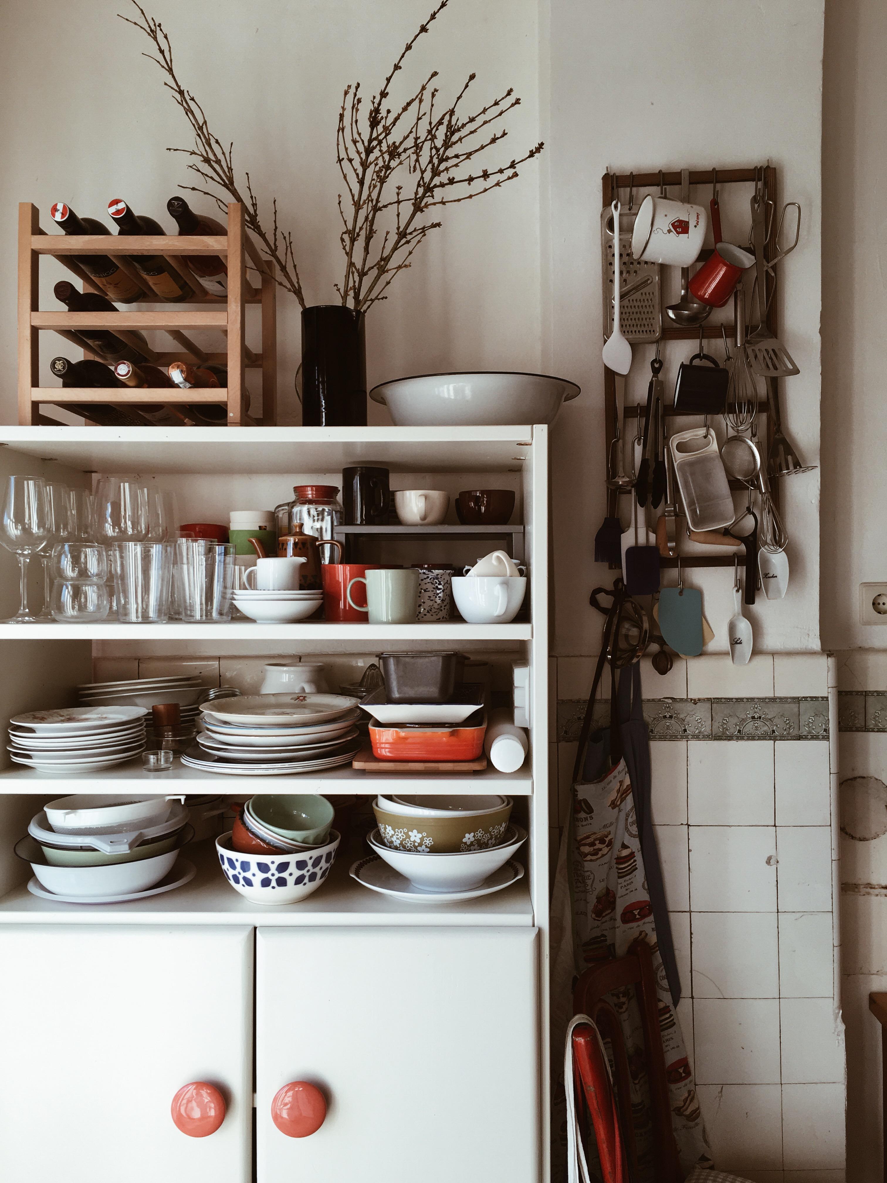 Entzückend Retro Küche Ideen Von Ich Nenne Es #kreativ Zusammengestellt #küchenschrank #küchenwand