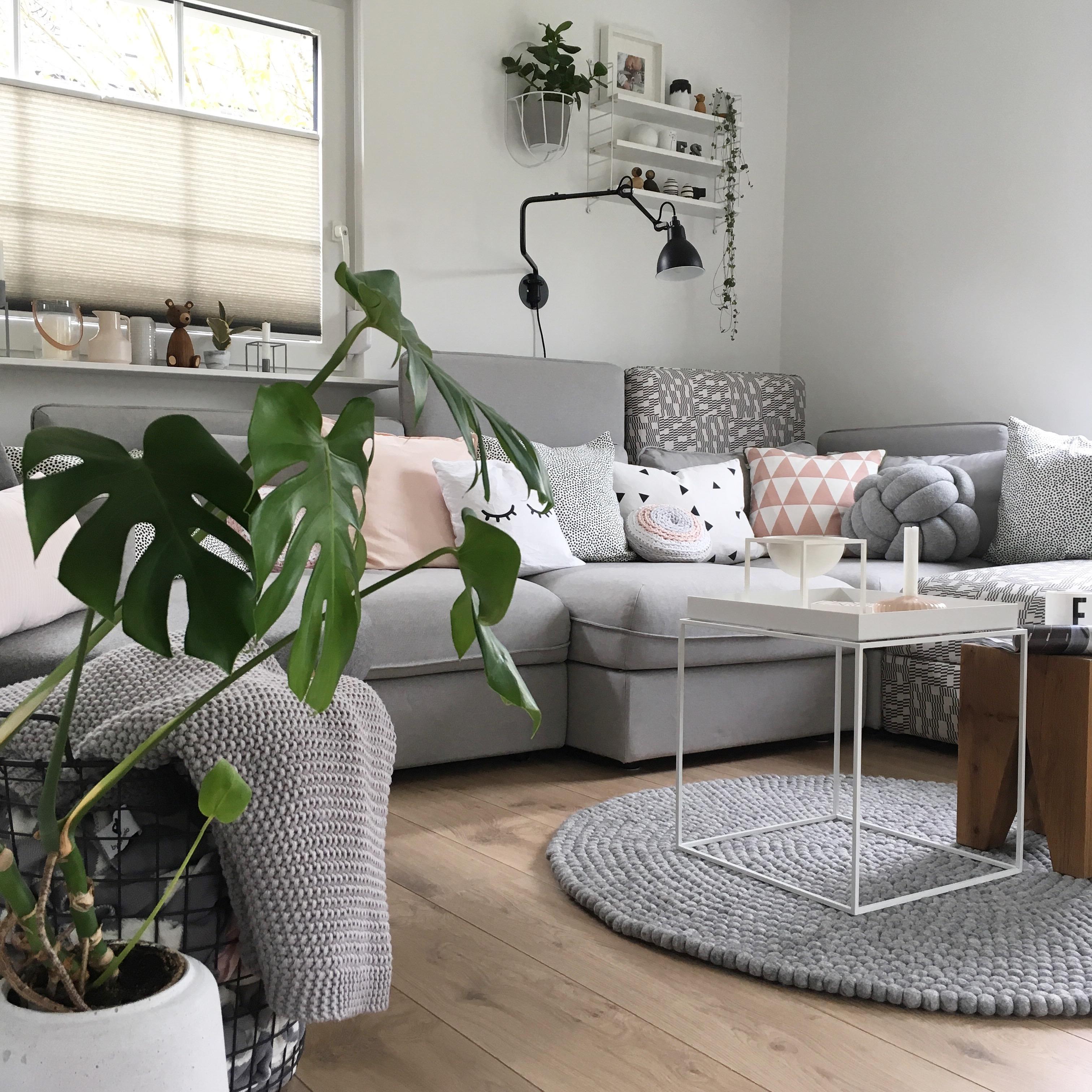 Künstlerisch Sofa Wohnzimmer Beste Wahl Und Die Andere Seite: #wohnzimmer #livingchallenge #sofa