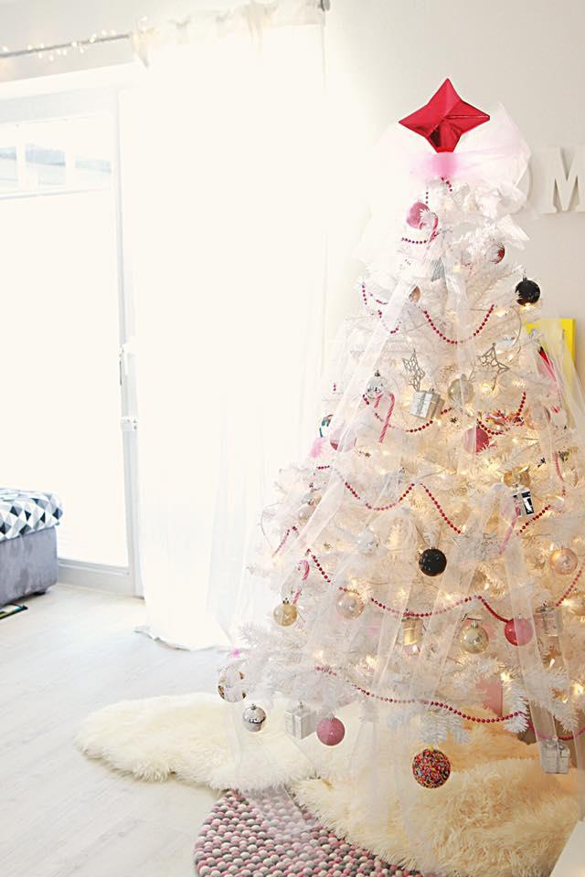 unicorn #tannenbaum ... oder auch #whitechristmas ....