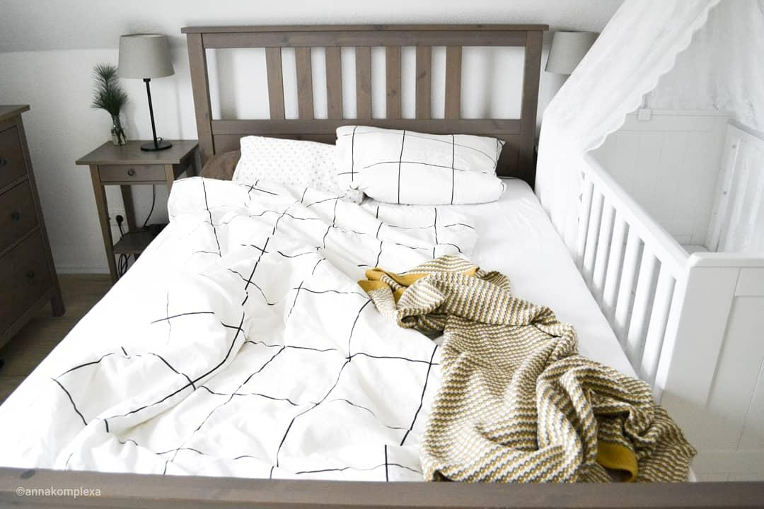 Unser Bettchen... #bett #schlafzimmer #gemütlich • C...