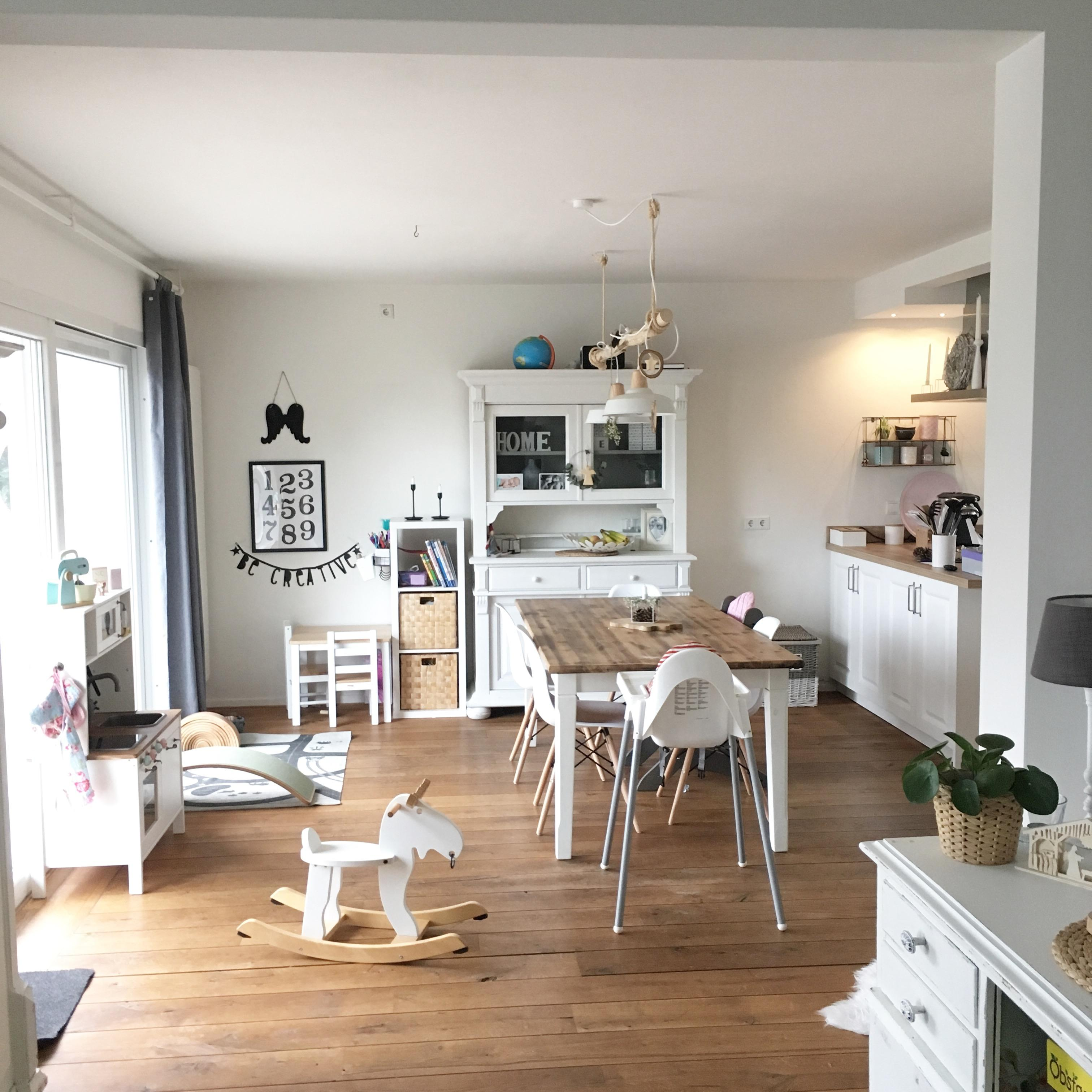 Beautiful k che shabby chic contemporary house design - Shabby look wohnzimmer ...