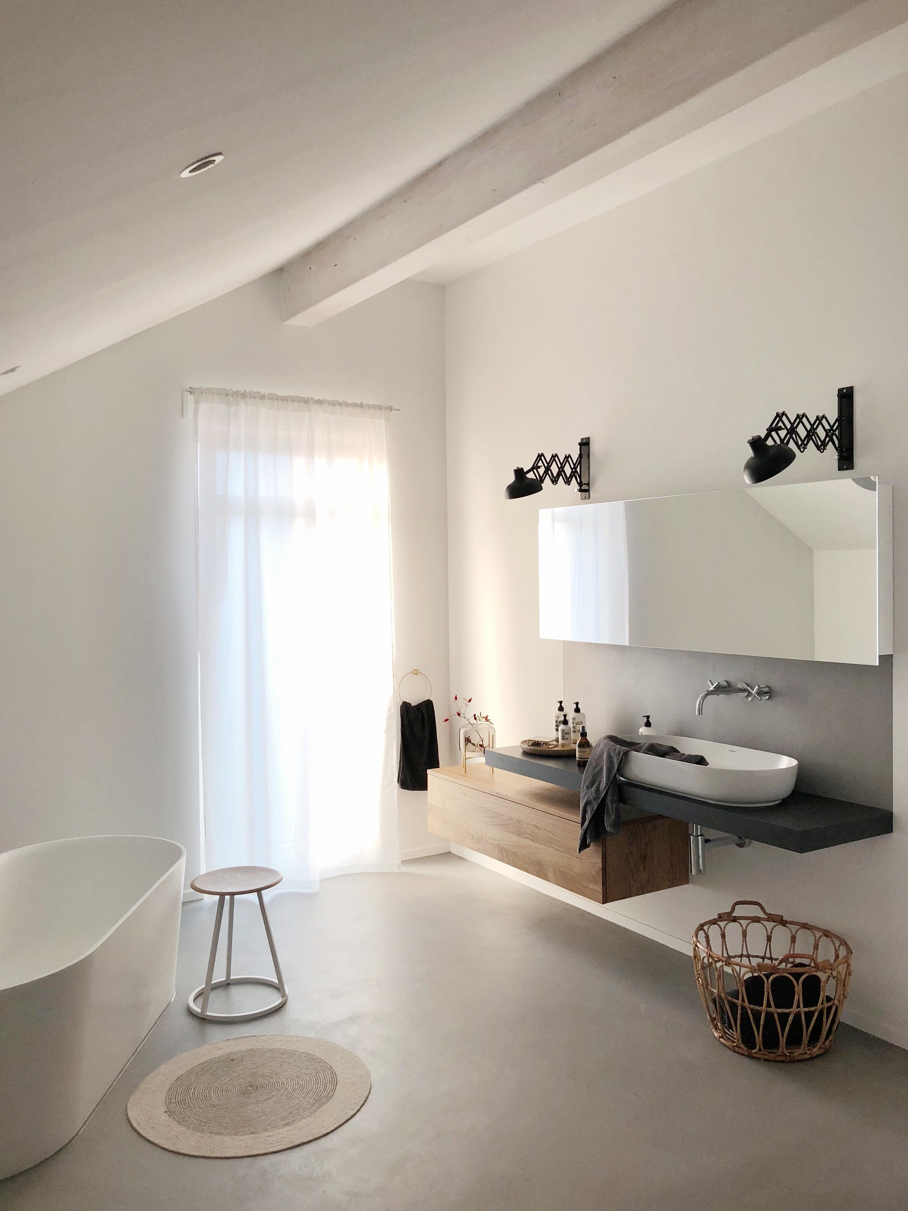 Unser Minimalistisches Badezimmer #bathroom#badezimmer#pure