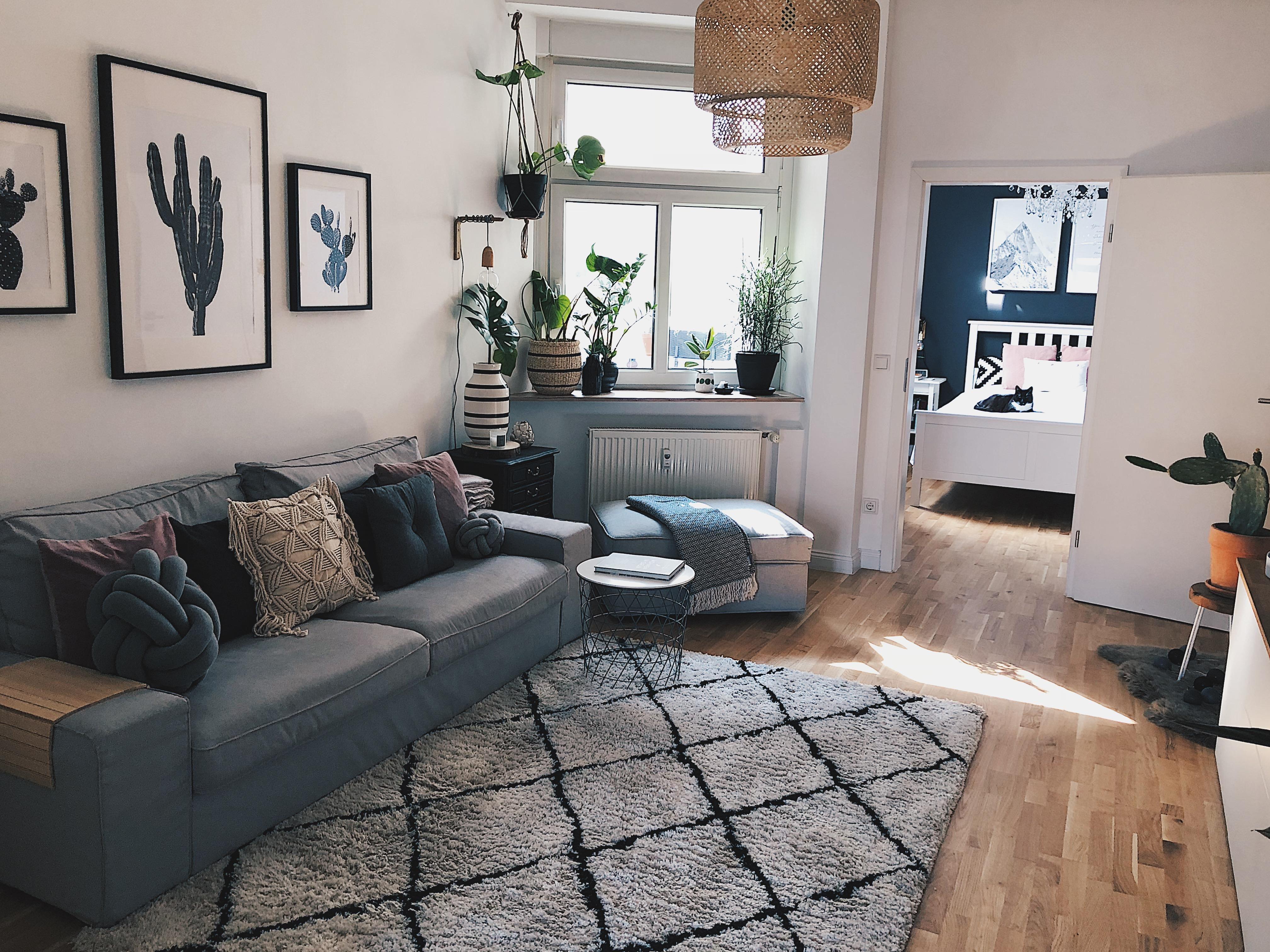 Unser Wohnzimmer 🖤 #livingroom #wohnzimmer #sinnerlig #mywestwingstyle  #wohnklamotte #germaninteriorbloggers