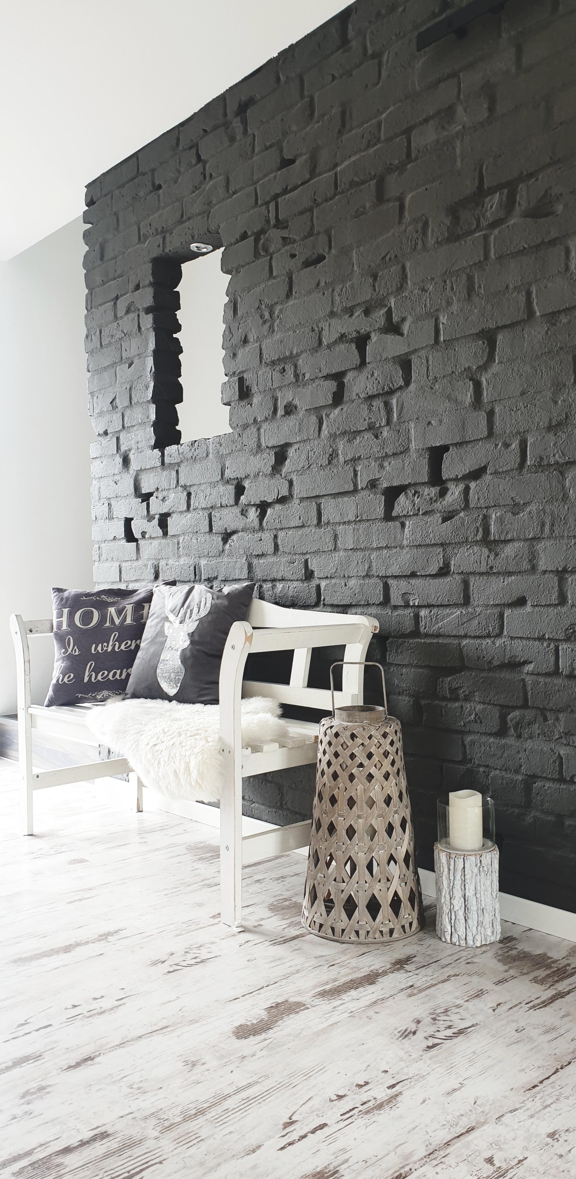 Steinwand in Wohnzimmer oder Küche: Ideen bei COUCH!