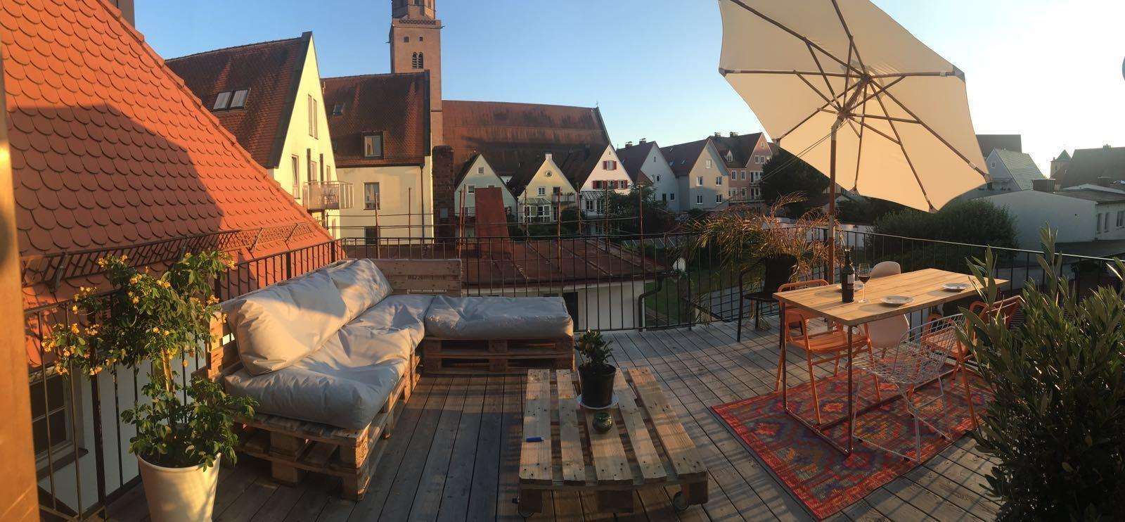 Ideen Für Dachterrasse dachterrassen: so gestaltest du dein kleines paradies!