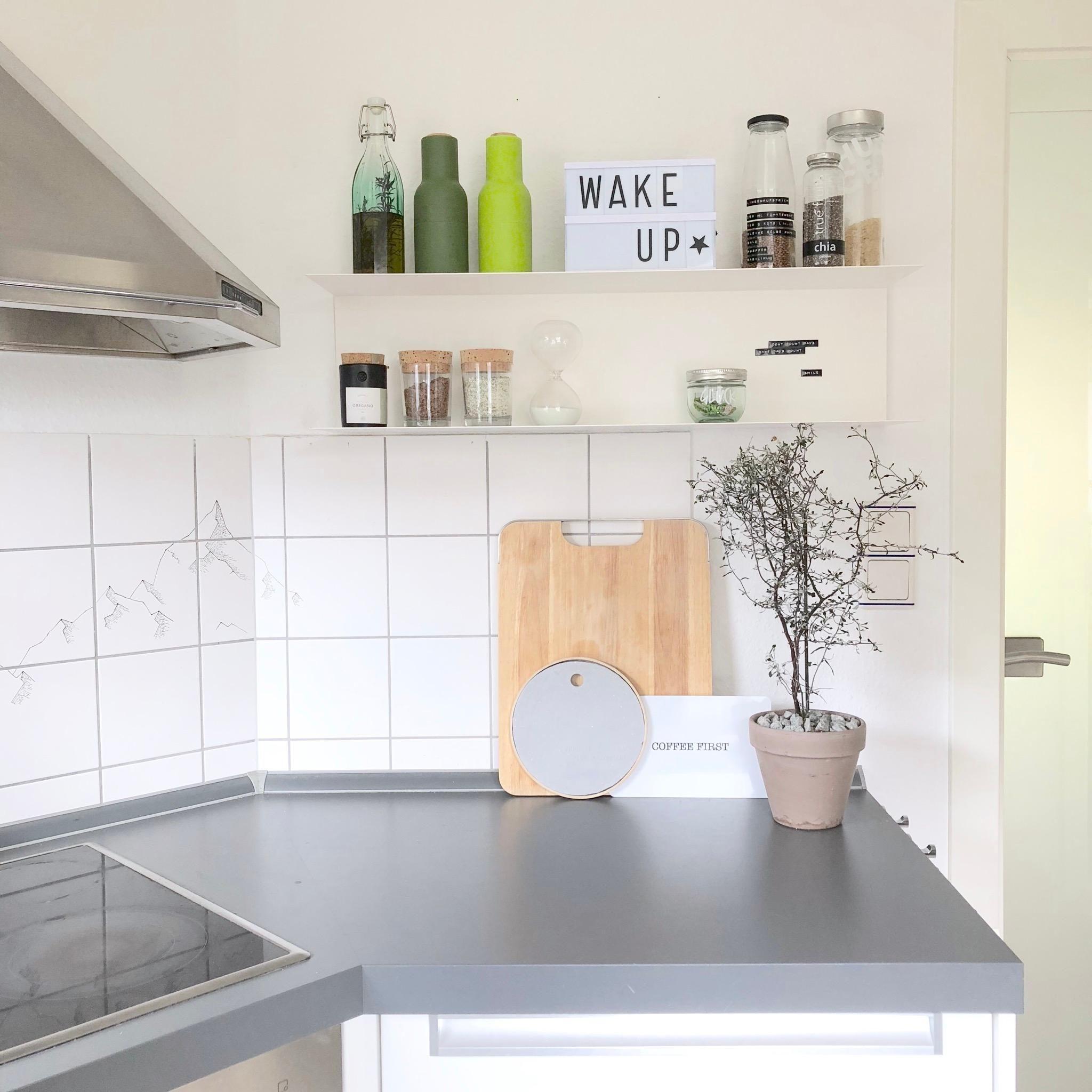 Unsere Küche und mein Lueblingsregal küche interi