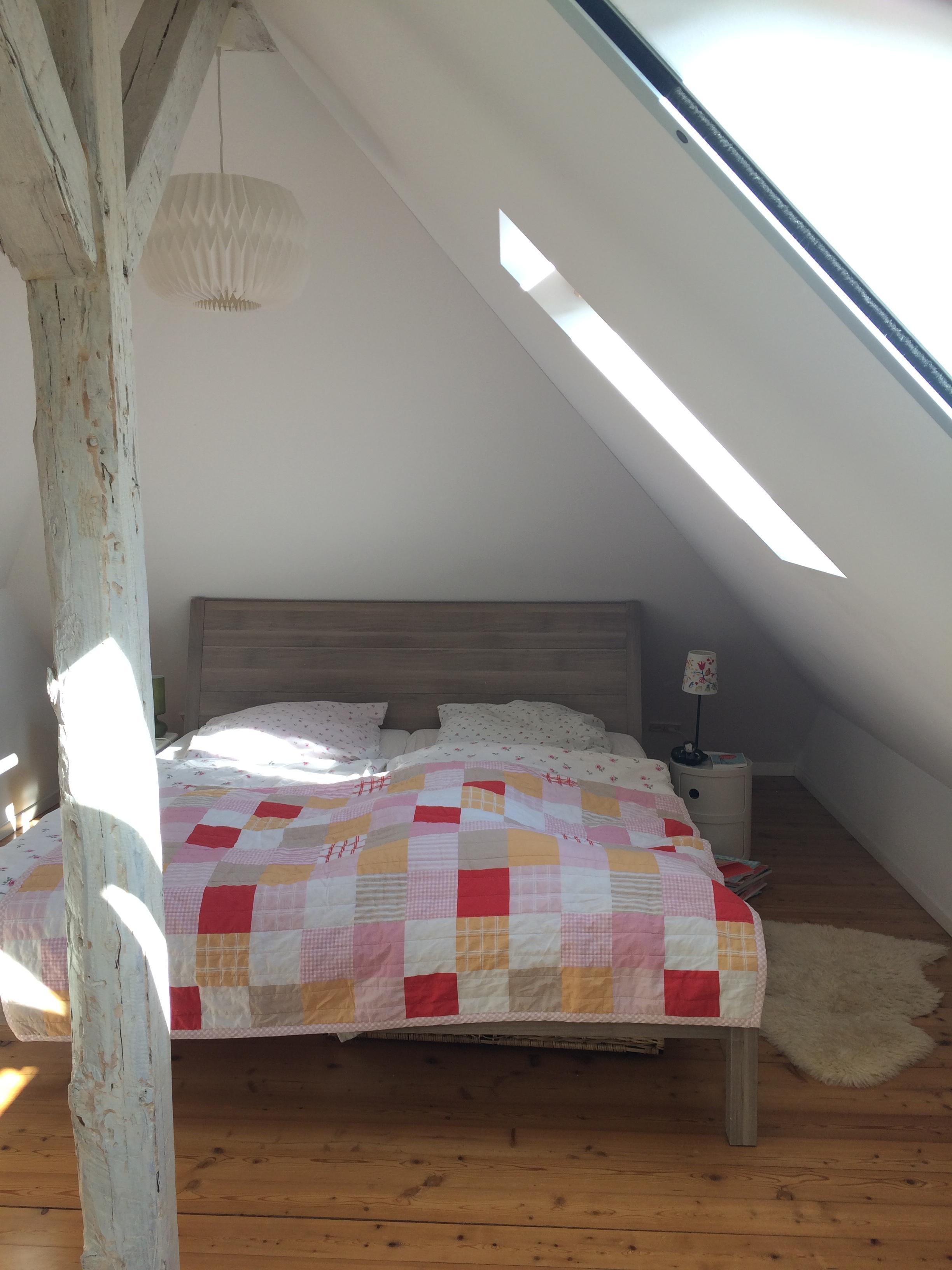Unterm Dach juchhe. #living #interior #schlafzimmer ...
