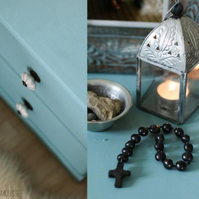 upcycle! refurbished #vintage #boho #teal