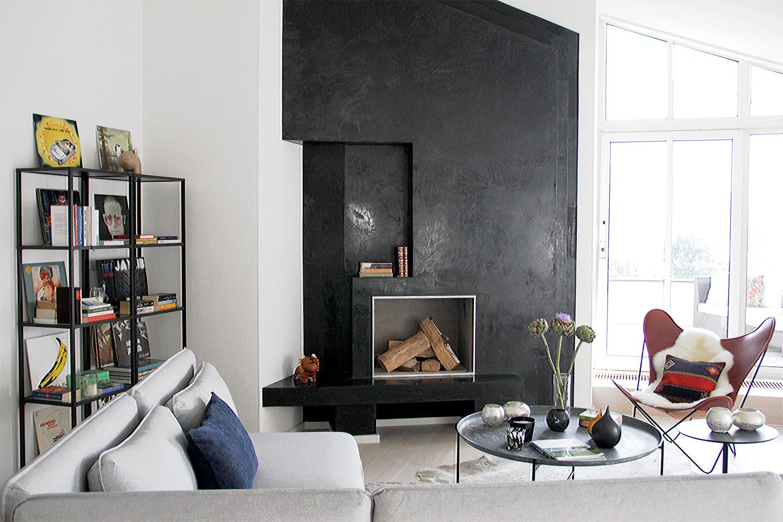 urban meets bohemian in dachgeschoss wohnung mit see. Black Bedroom Furniture Sets. Home Design Ideas