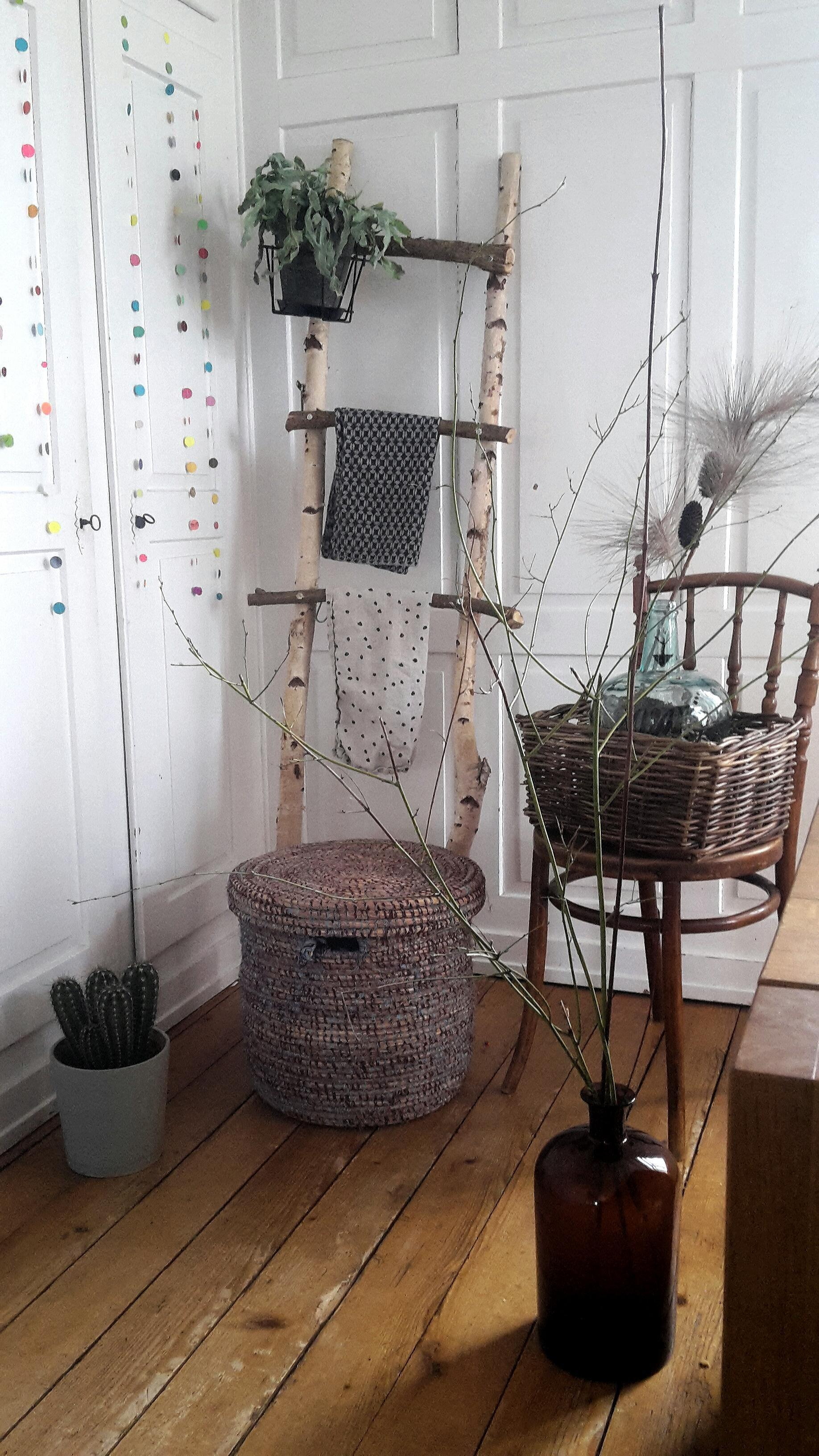 #urbanjungle #flur #birke #körbe #homedecor #lovehome