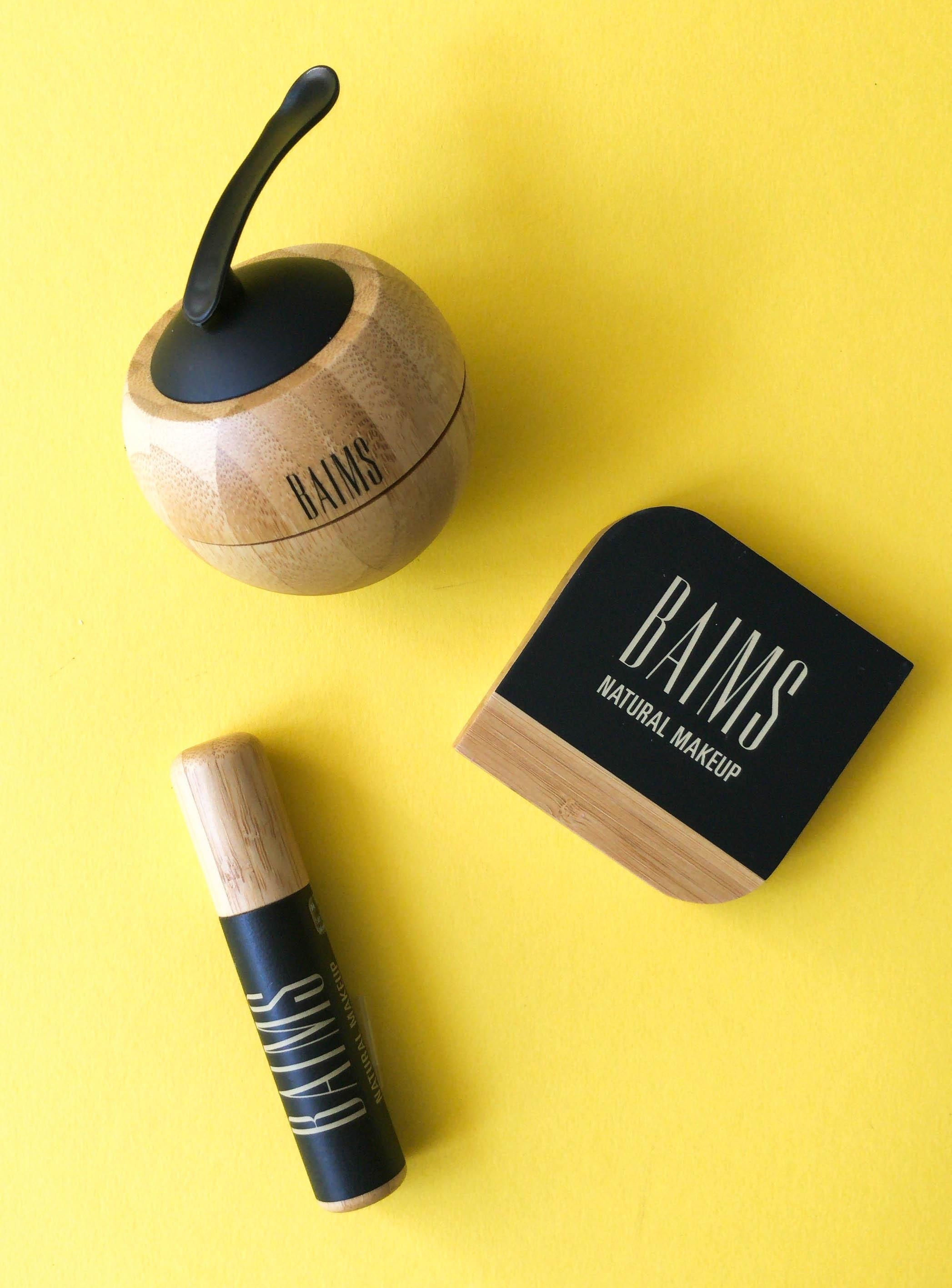 Vegan, aus natürlichen Inhaltsstoffen und nachfüllbar: Make-up Produkte von Baims! 