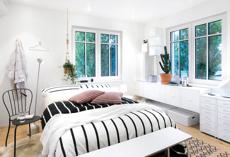 Viel Licht im #schlafzimmer: So wirken auch kleine R...