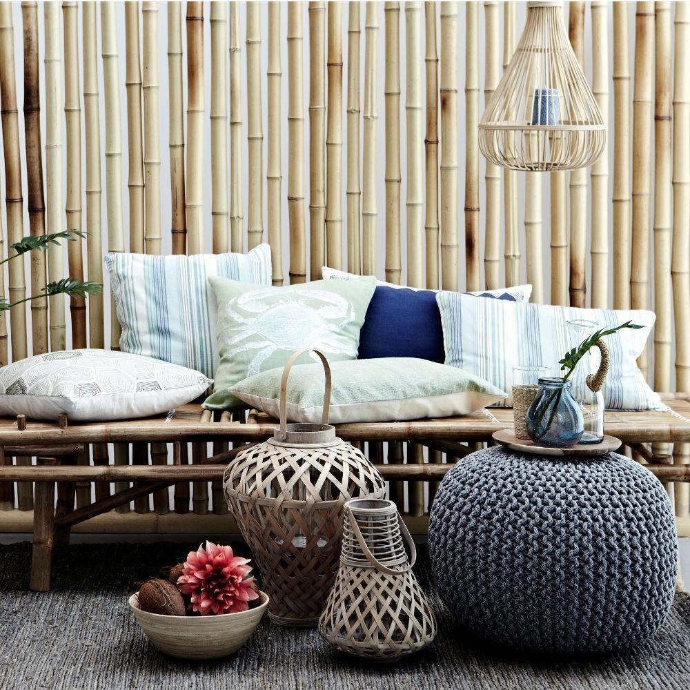 Vintage Kissen Bambus Kissen C Lene Bjerre Couch