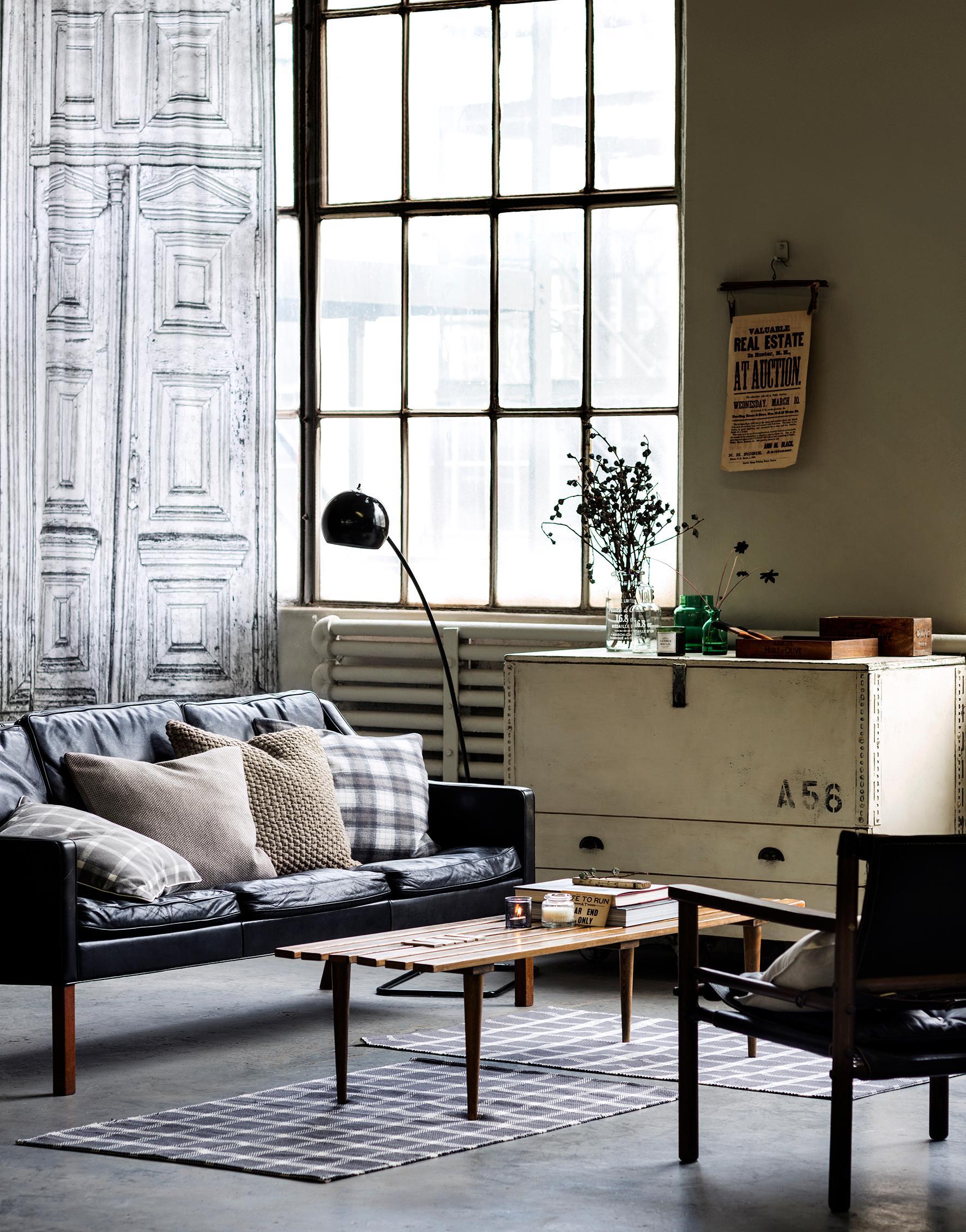 ledersofa • bilder & ideen • couchstyle, Hause deko