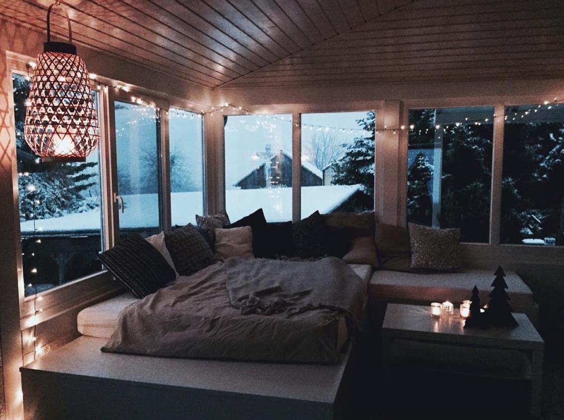 Vintage Skandistyle Bedroom Lounge Wintergarten