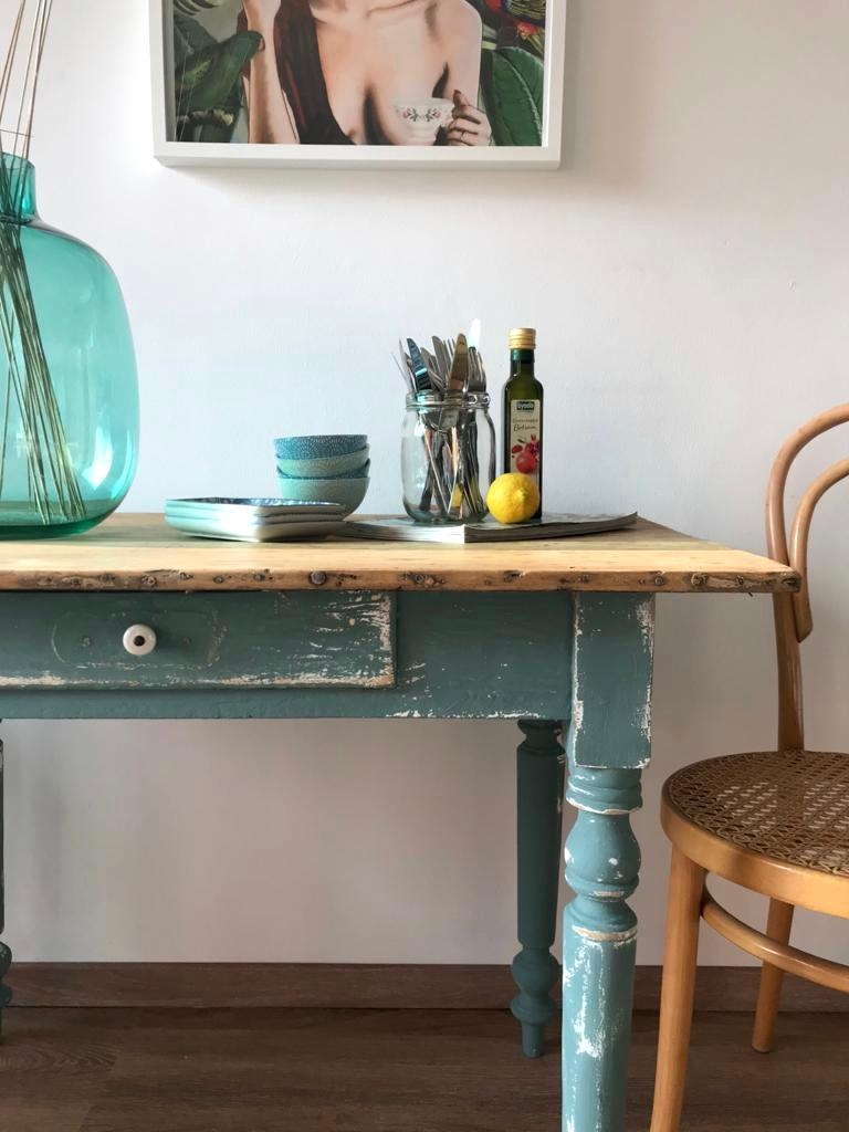 #vintage #table #kitchen #altemöbel