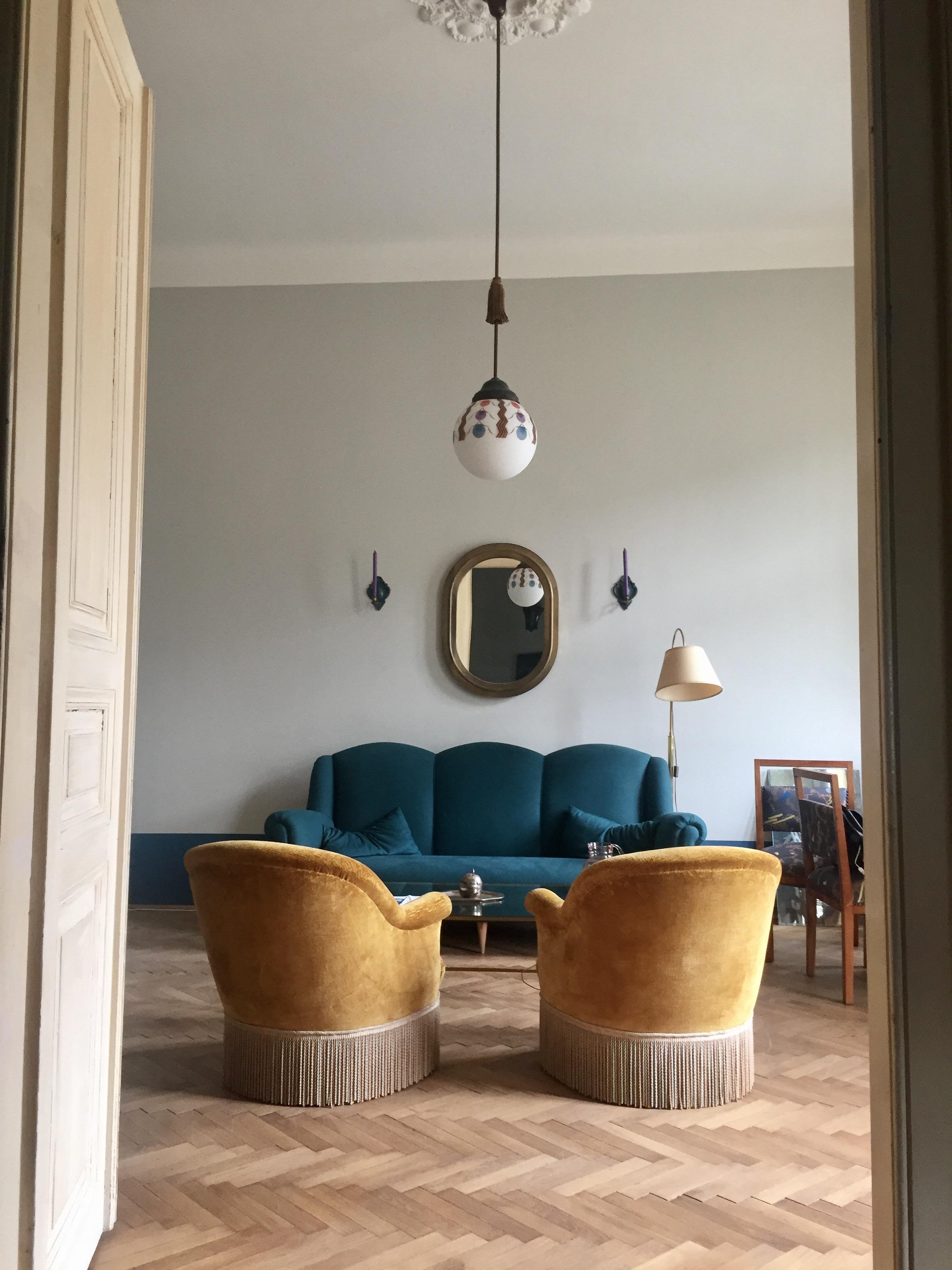 Petrolfarbenes Sofa • Bilder & Ideen • COUCHstyle