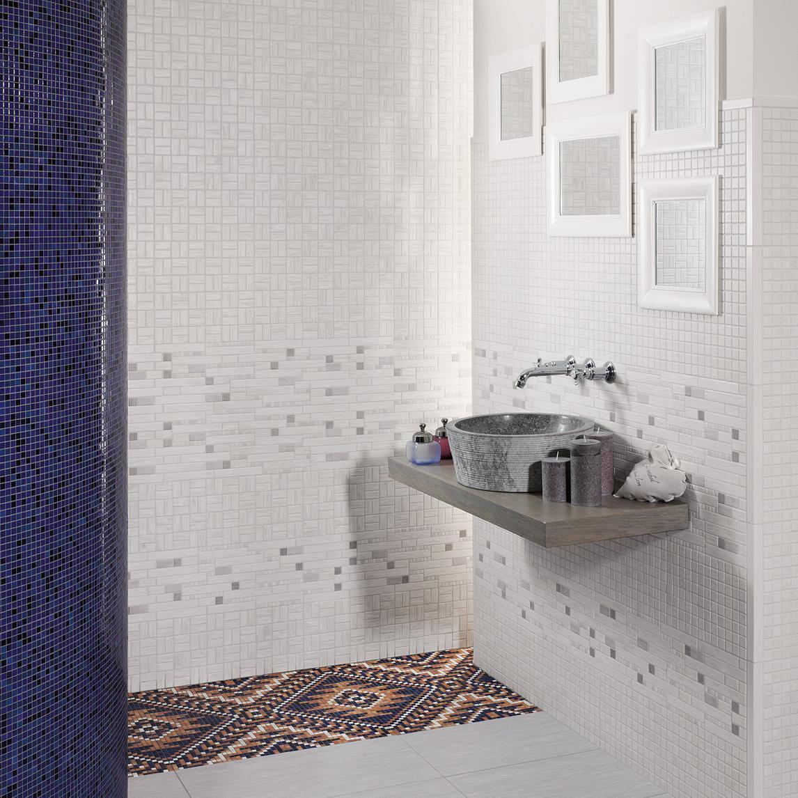 wandgestaltung f r das badezimmer bilder ideen. Black Bedroom Furniture Sets. Home Design Ideas