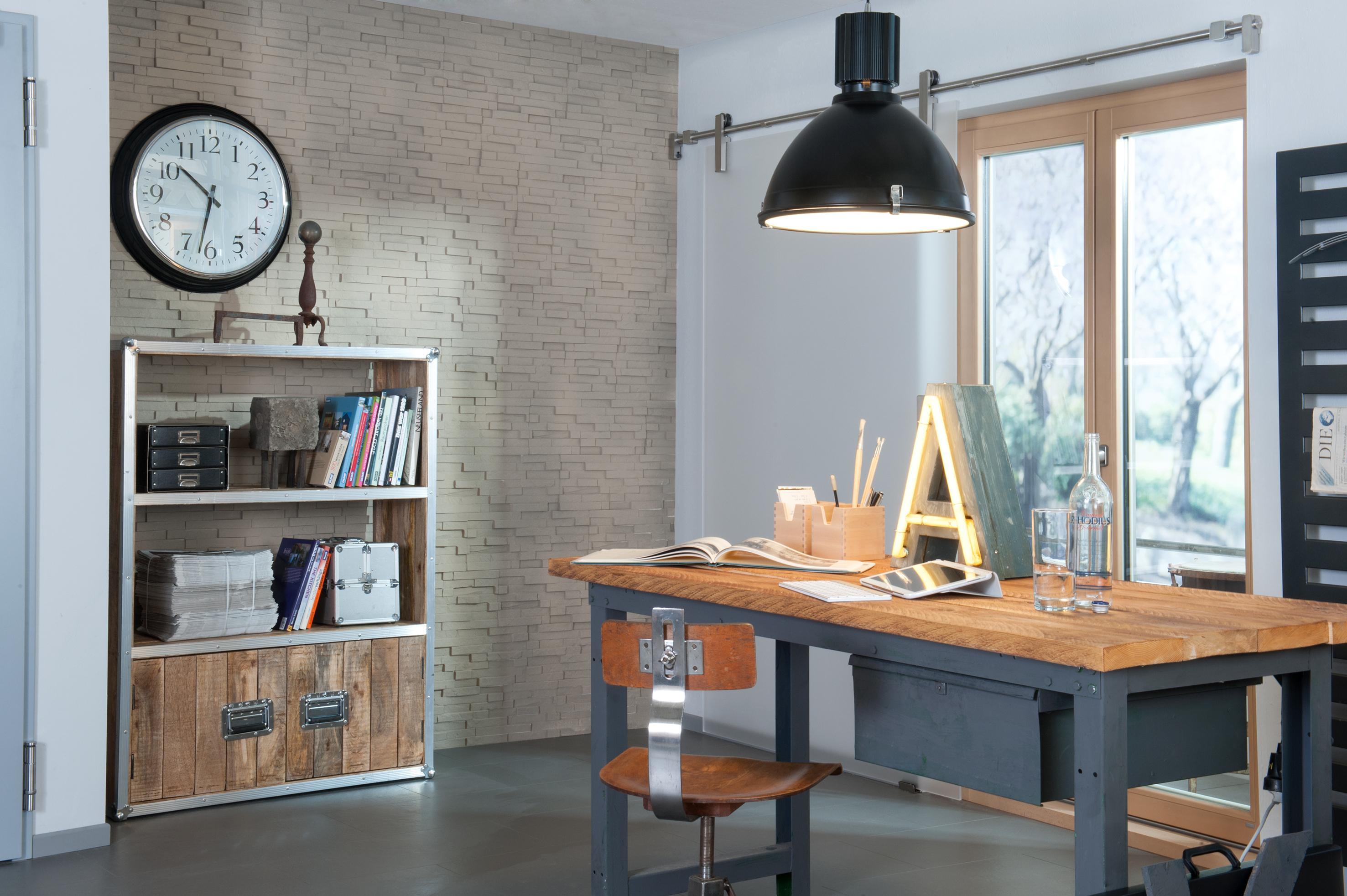 Arbeitszimmer wandgestaltung  Wandgestaltung für das Arbeitszimmer • Bilder & Idee...