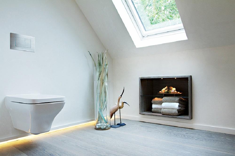 Extrem Wandgestaltung für das Badezimmer • Bilder & Ideen •... AQ99