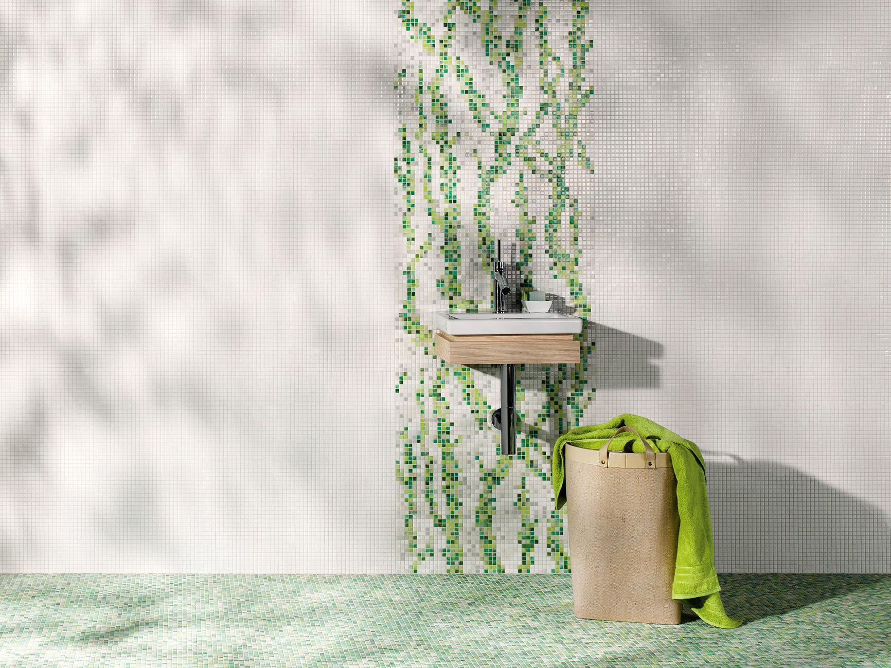Wandgestaltung Für Das Badezimmer • Bilder & Ideen •