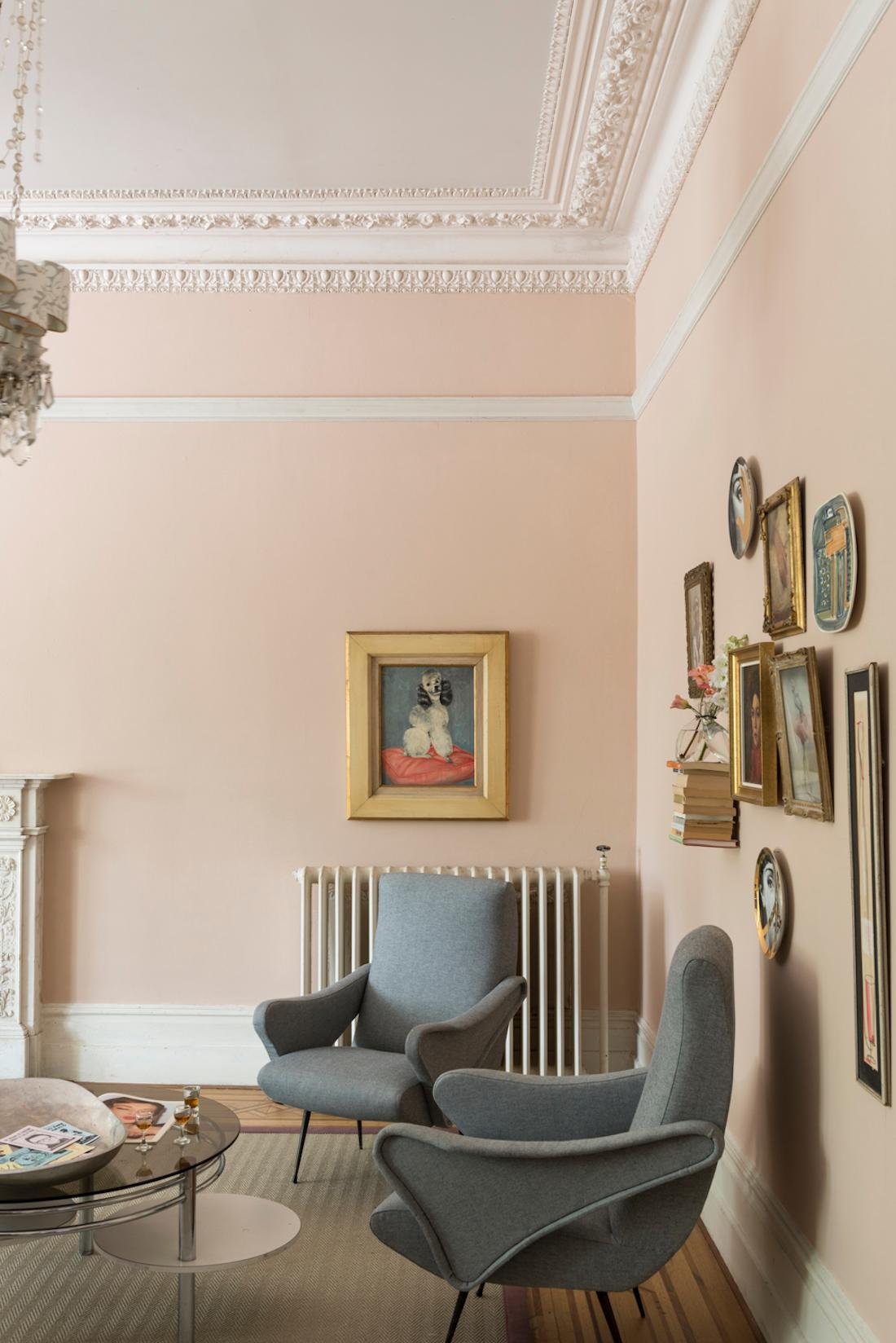 Wandgestaltung Von Farrow Ball Wandfarbe Wohnzimmergestaltung Farrowball CFarrow