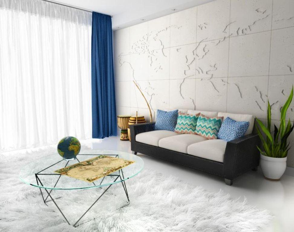 3d wandgestaltung stein dekorativ ideen innen, wandverkleidung individualisieren: so geht's!, Design ideen