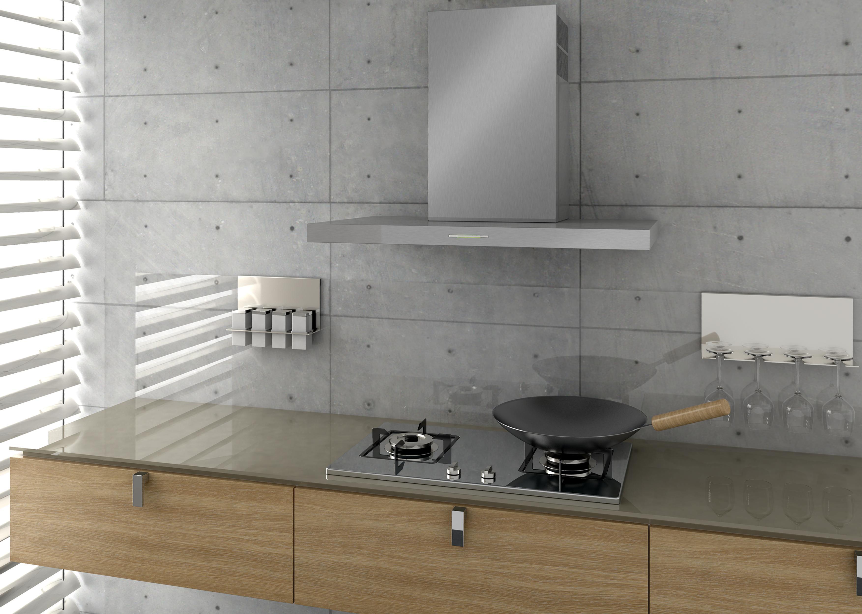Dunstabzugshaube für offene küche abschlussleisten küche kidkraft