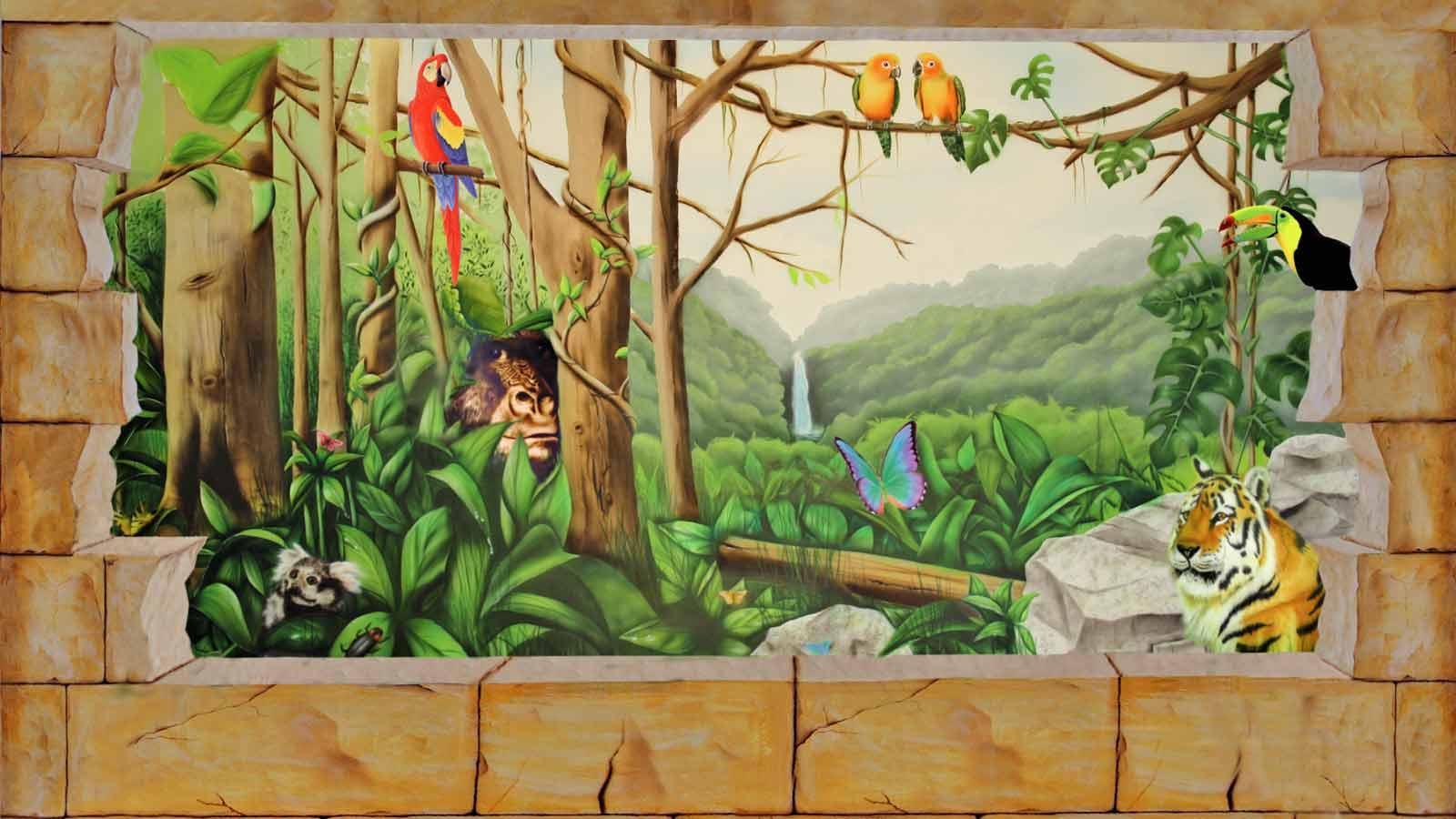 Wandmalerei Kinderzimmer | Wandmalerei Kinderzimmer Wandgestaltungkinderzimmer
