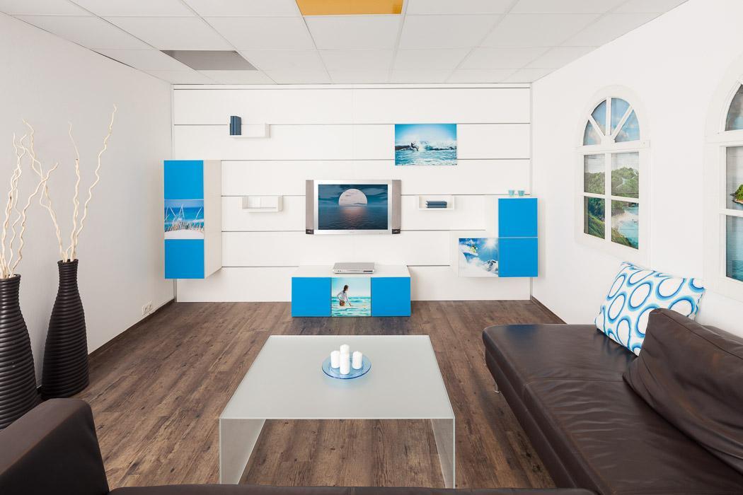 wandpaneel fürs wohnzimmer • bilder & ideen • couchstyle, Wohnzimmer