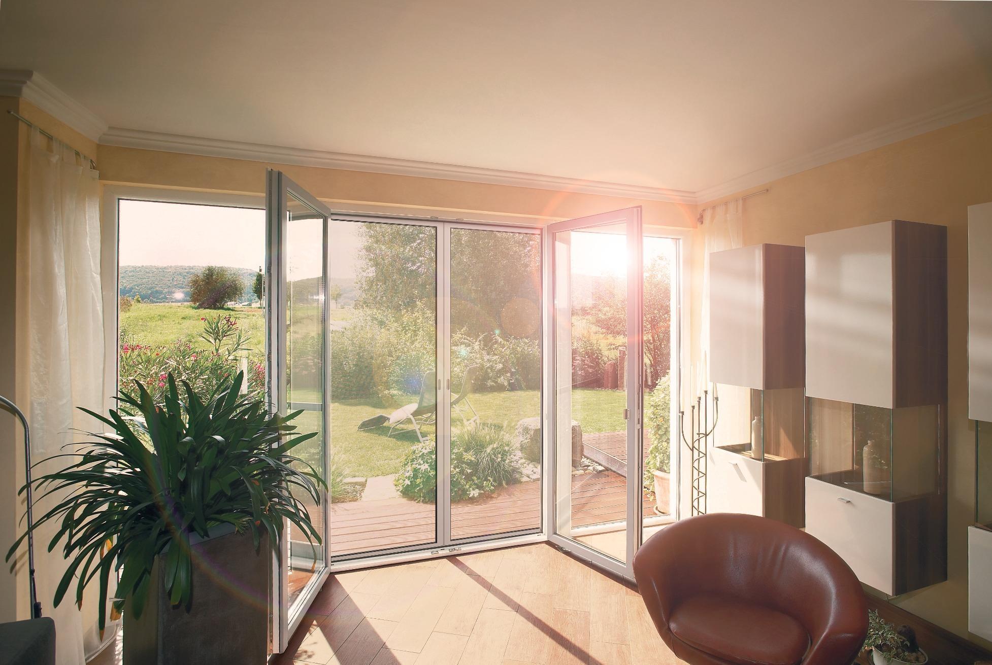 WAREMA Insektenschutz Schützt Vor Unerwünschten Plagegeistern #wohnzimmer # Rollo ©WAREMA Renkhoff SE