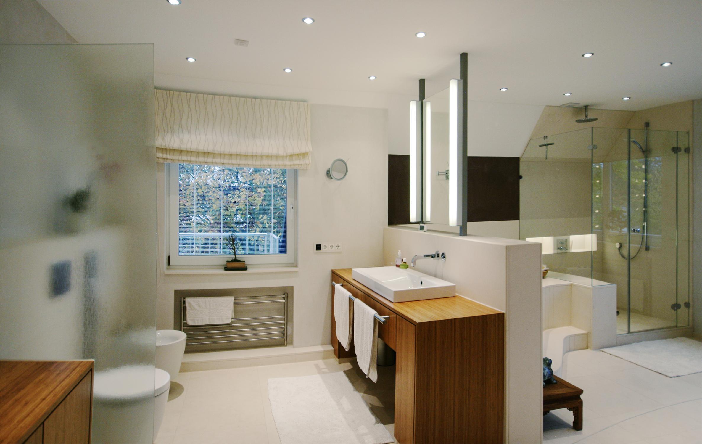 Waschtisch mit Bambusfurnier #bad #badezimmer ©Werne...